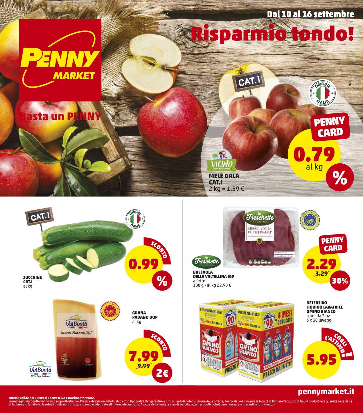 Volantino Penny Market - Offerte 10/09-16/09/2020