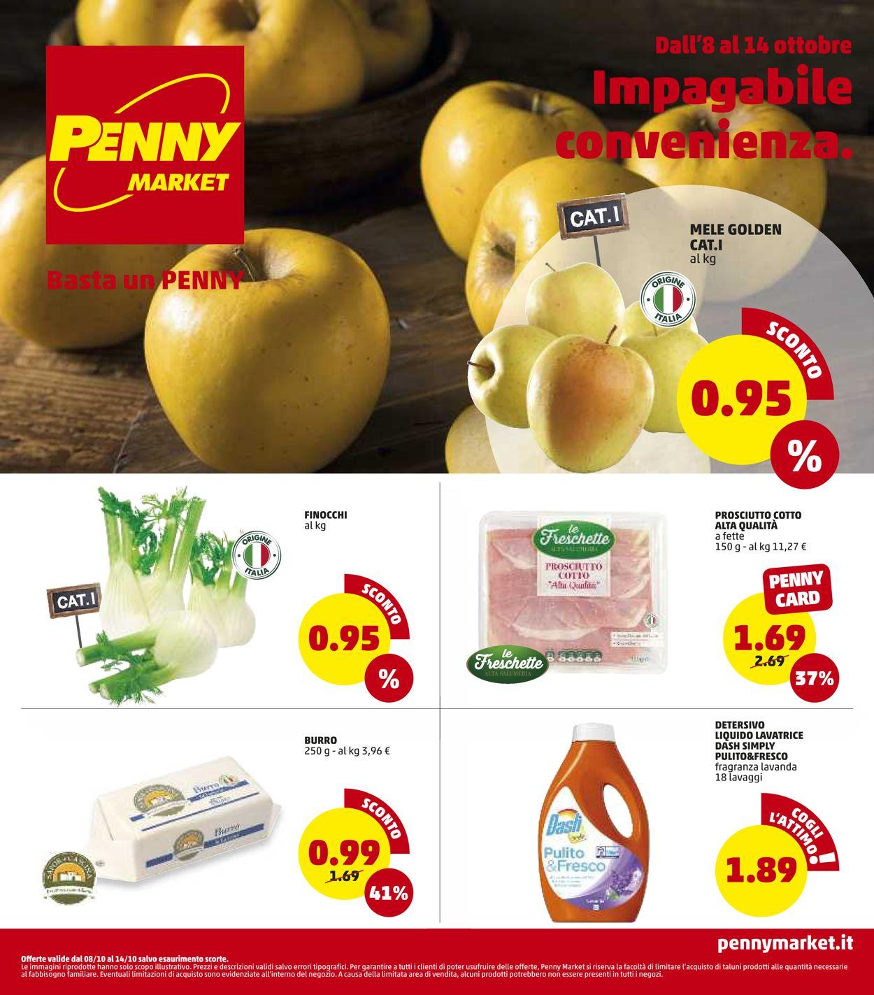 Volantino Penny Market - Offerte 08/10-14/10/2020
