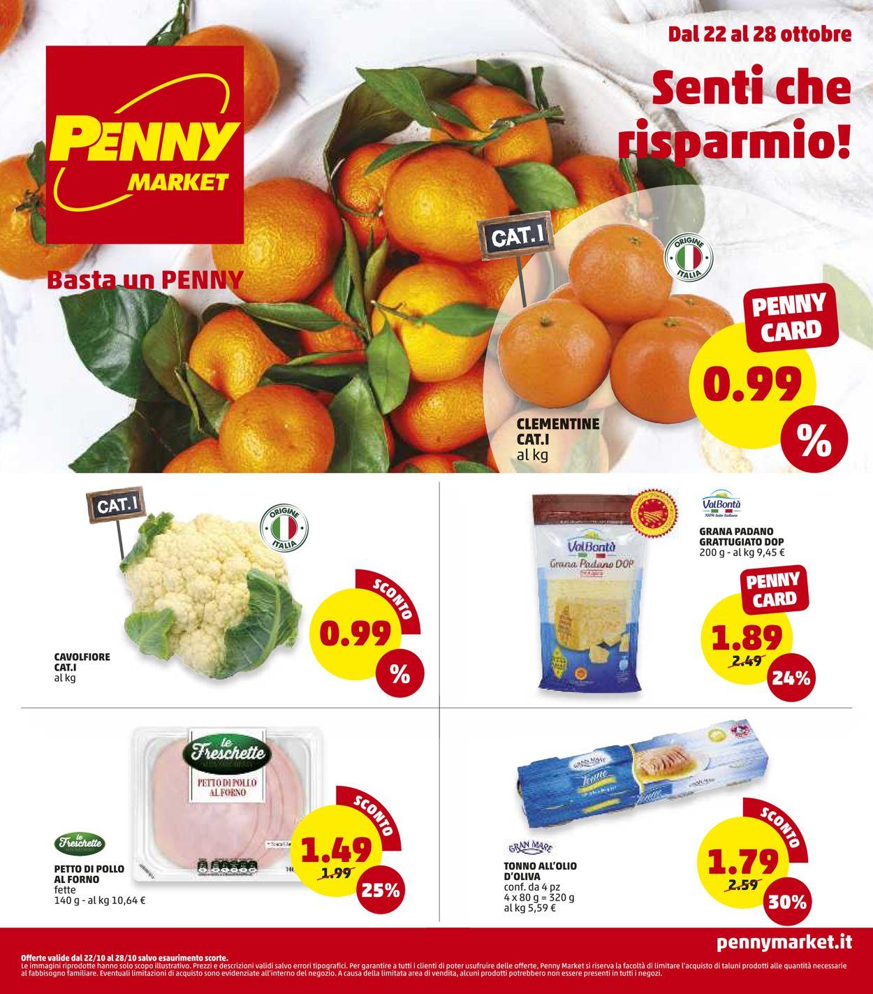 Volantino Penny Market - Offerte 22/10-28/10/2020
