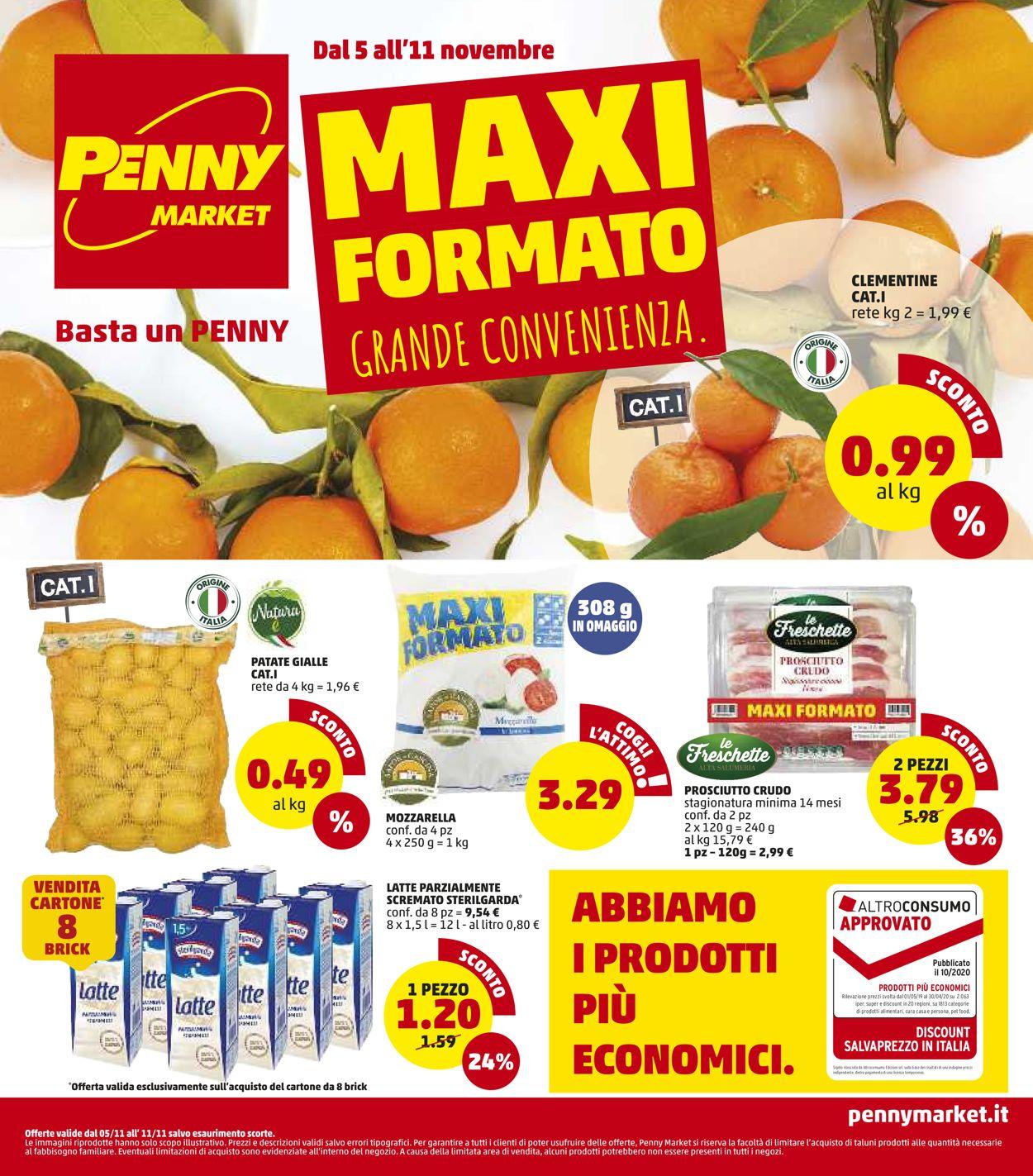 Volantino Penny Market - Offerte 05/11-11/11/2020