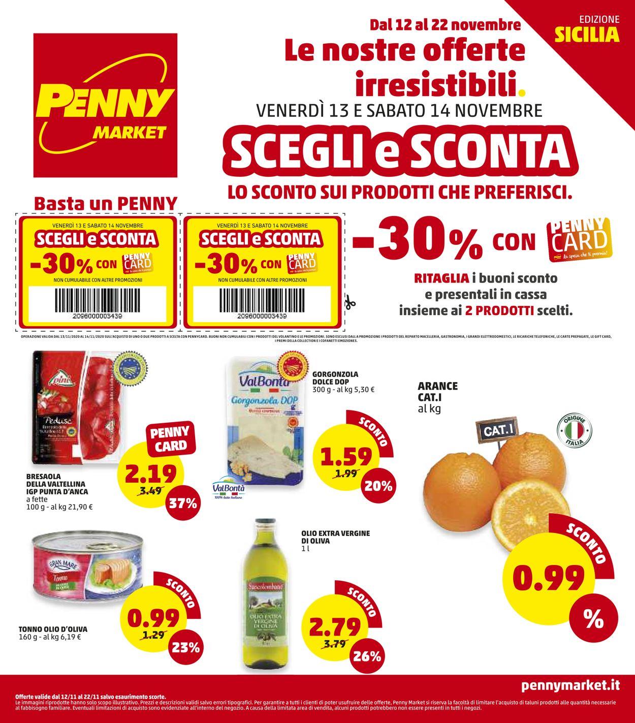 Volantino Penny Market - Offerte 12/11-22/11/2020