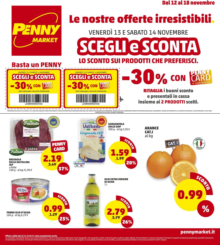Volantino Penny Market - Offerte 12/11-18/11/2020