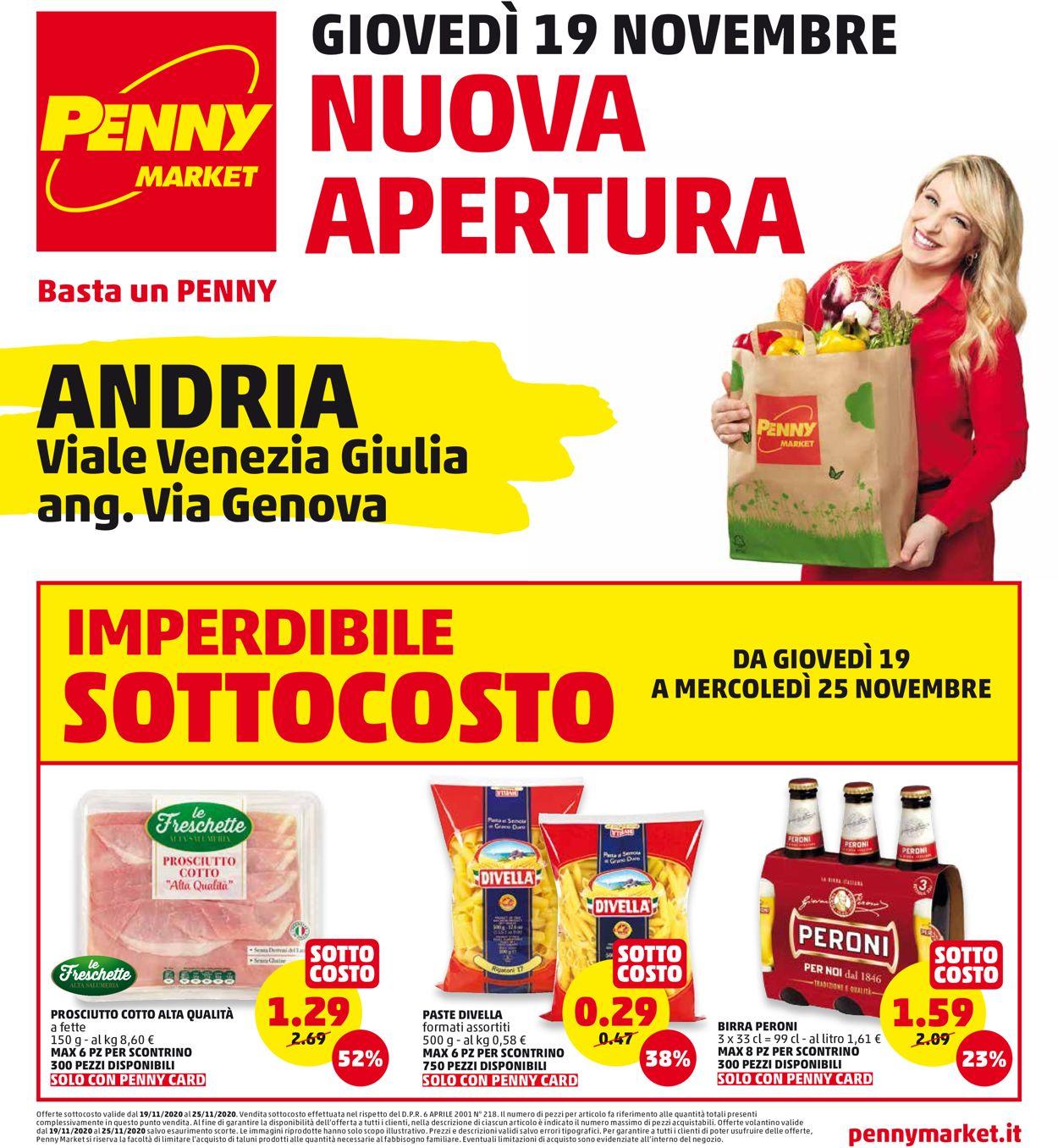Volantino Penny Market - Offerte 19/11-25/11/2020