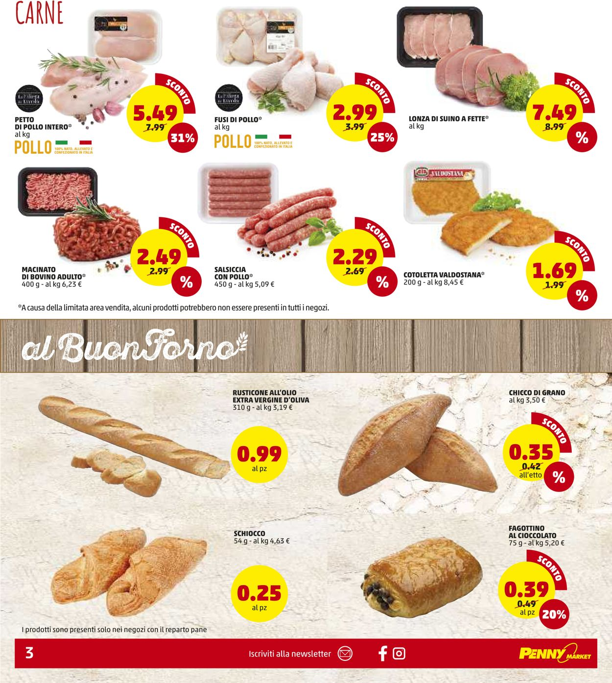 Volantino Penny Market - Locale - Offerte 07/01-17/01/2021 (Pagina 3)