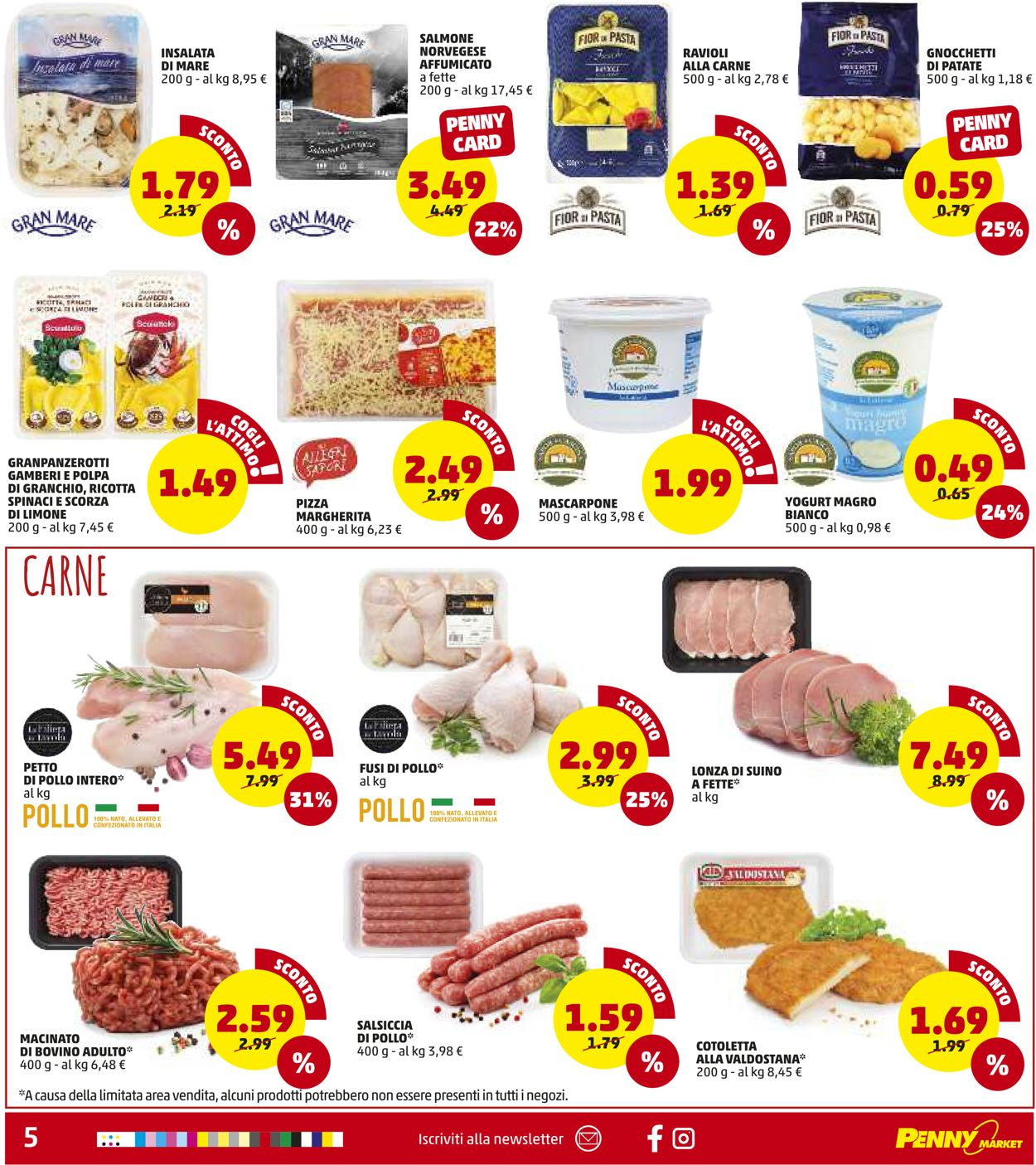 Volantino Penny Market - Sicilia - Offerte 07/01-17/01/2021 (Pagina 5)