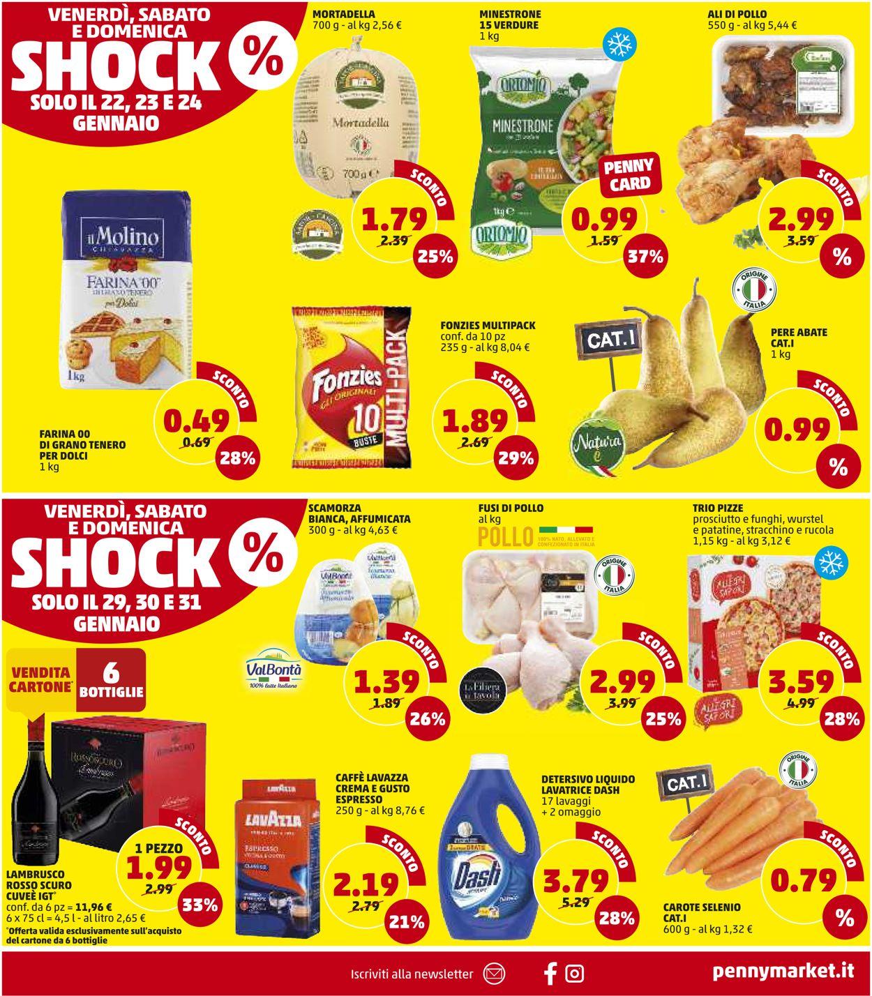 Volantino Penny Market - Sicilia - Offerte 21/01-31/01/2021 (Pagina 16)