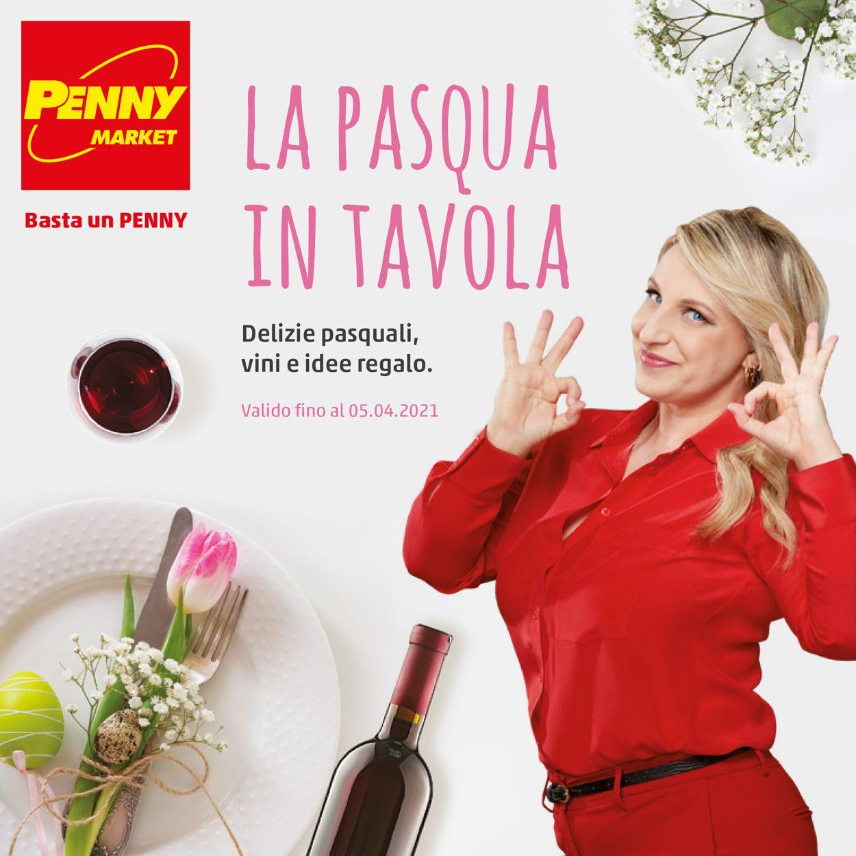 Volantino Penny Market - Pasqua 2021! - Offerte 04/03-05/04/2021