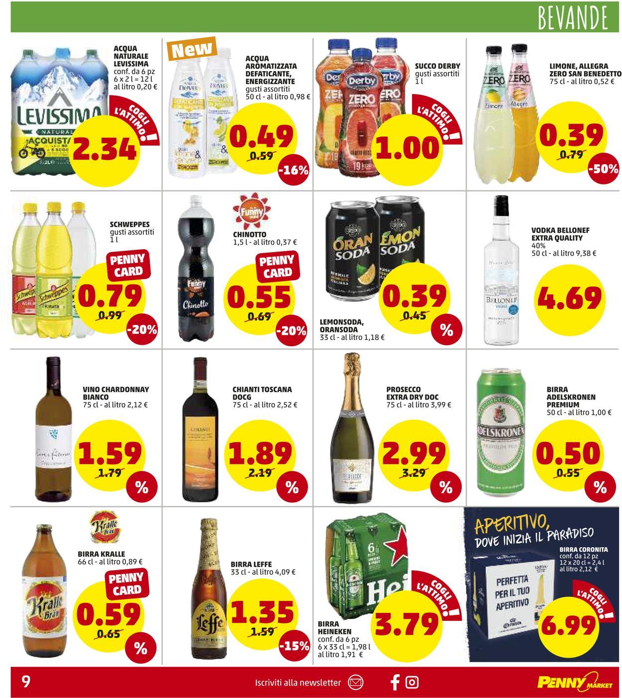 Volantino Penny Market - Offerte 22/07-01/08/2021 (Pagina 9)