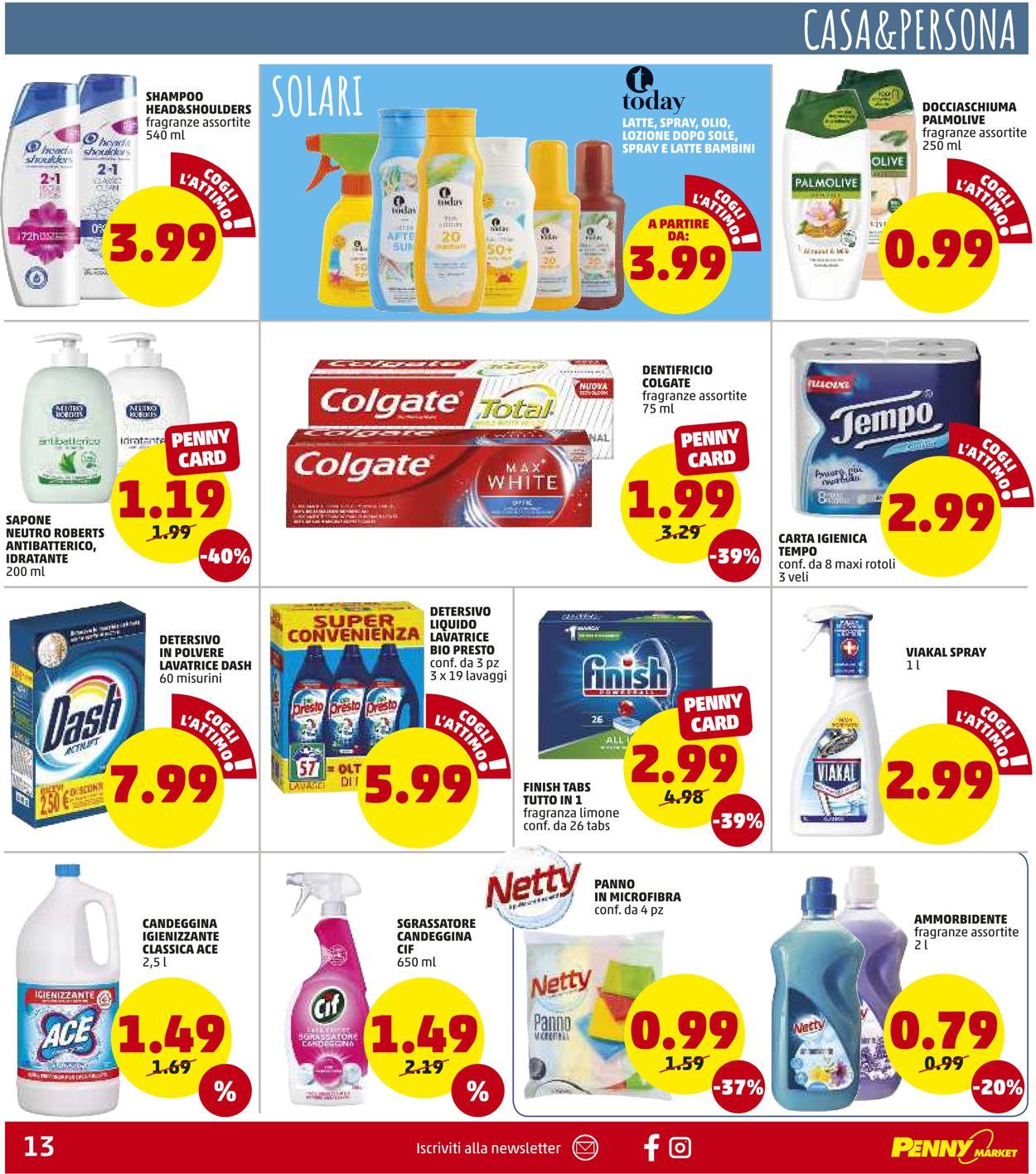 Volantino Penny Market - Offerte 22/07-01/08/2021 (Pagina 13)