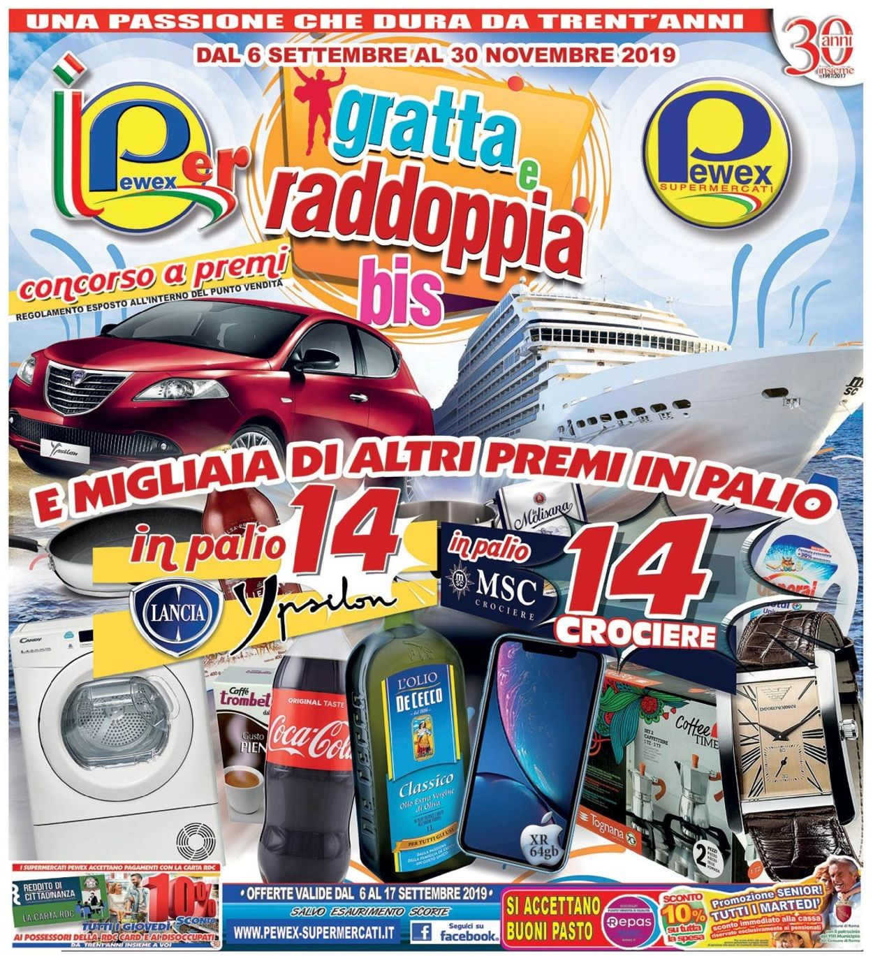 Volantino Pewex - Offerte 06/09-17/09/2019