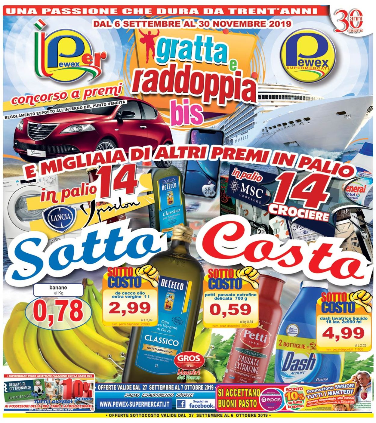 Volantino Pewex - Offerte 27/09-06/10/2019