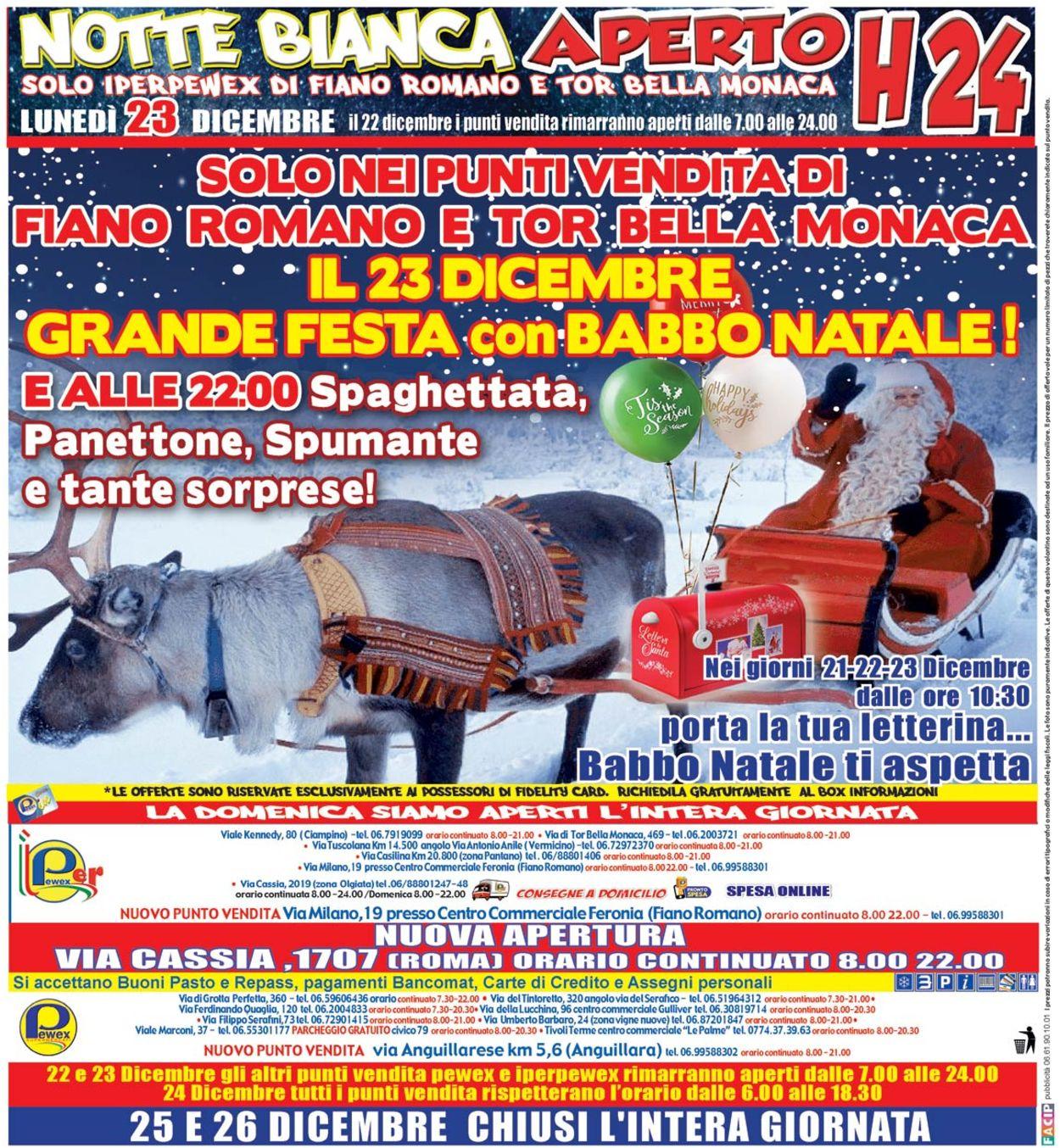 Volantino Il volantino natalizio di Pewex - Offerte 15/12-24/12/2019 (Pagina 32)