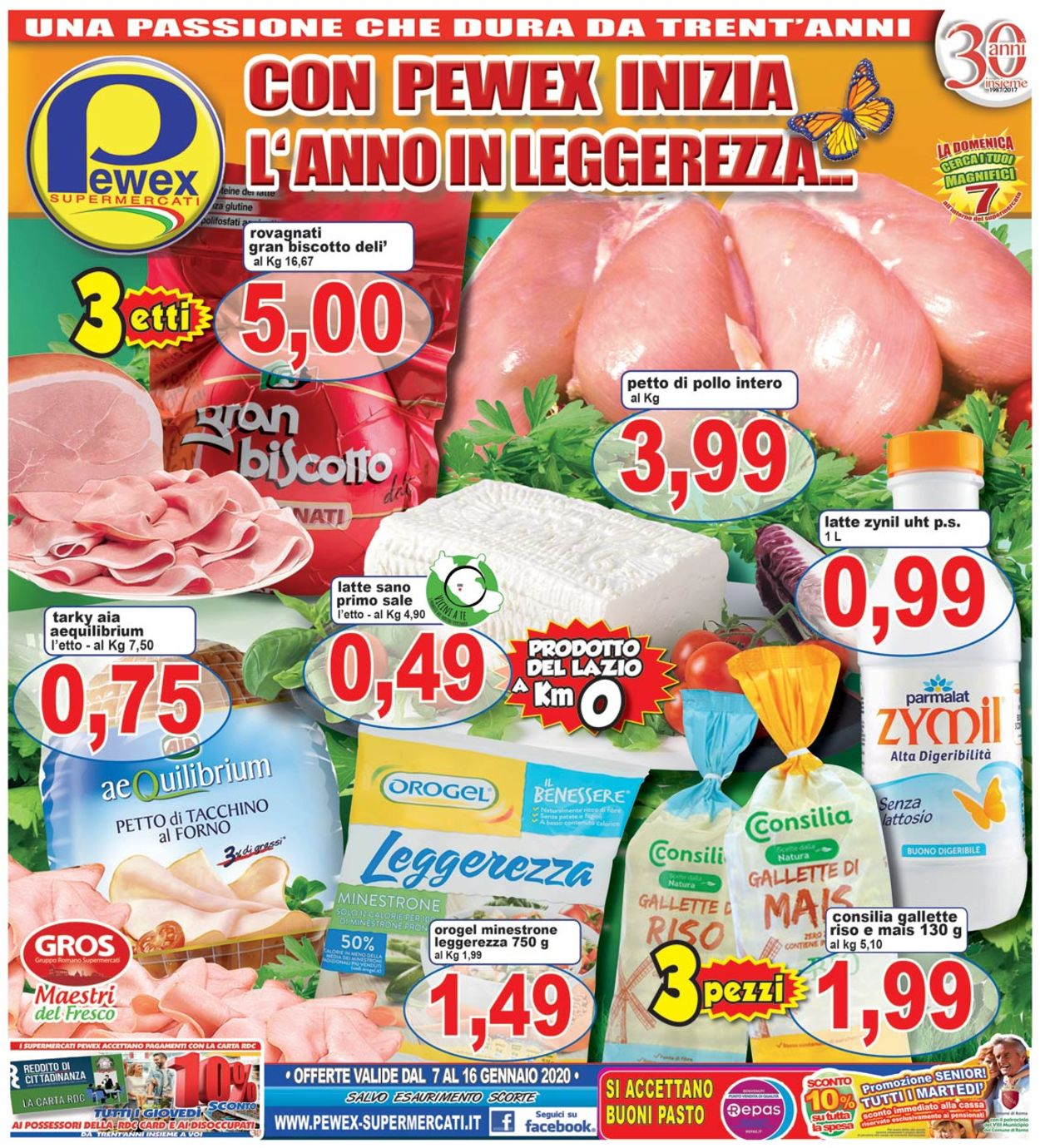 Volantino Pewex - Offerte 07/01-16/01/2020