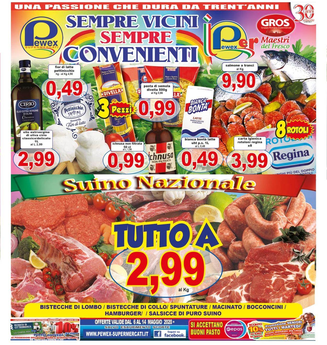 Volantino Pewex - Offerte 06/05-14/05/2020