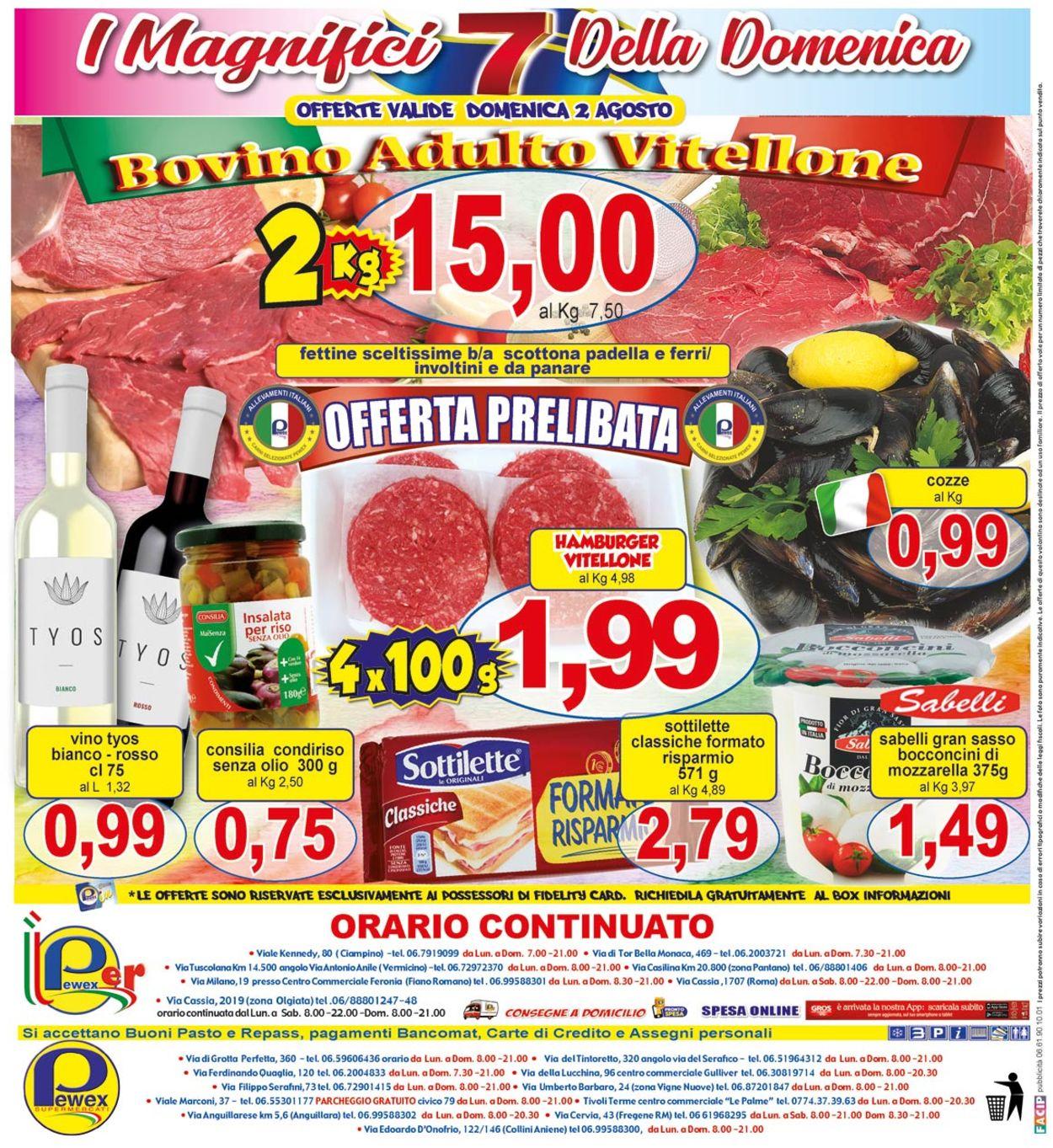 Volantino Pewex - Offerte 29/07-06/08/2020 (Pagina 24)