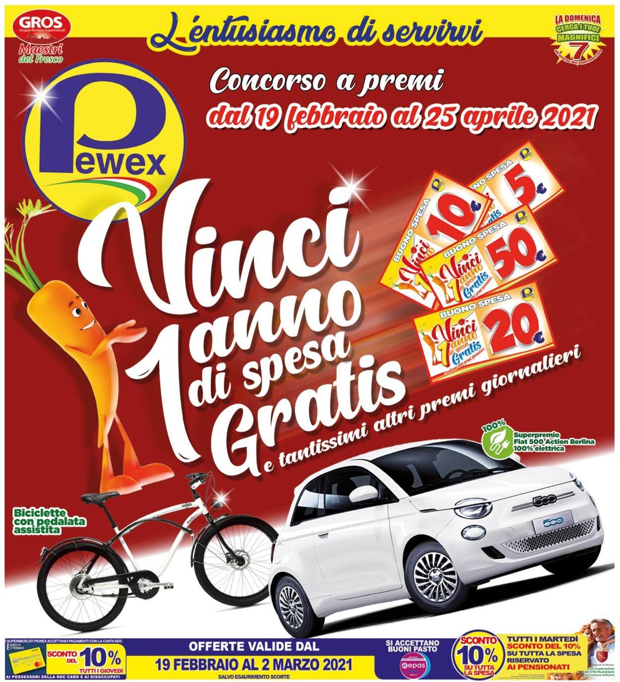 Volantino Pewex - Offerte 19/02-02/03/2021