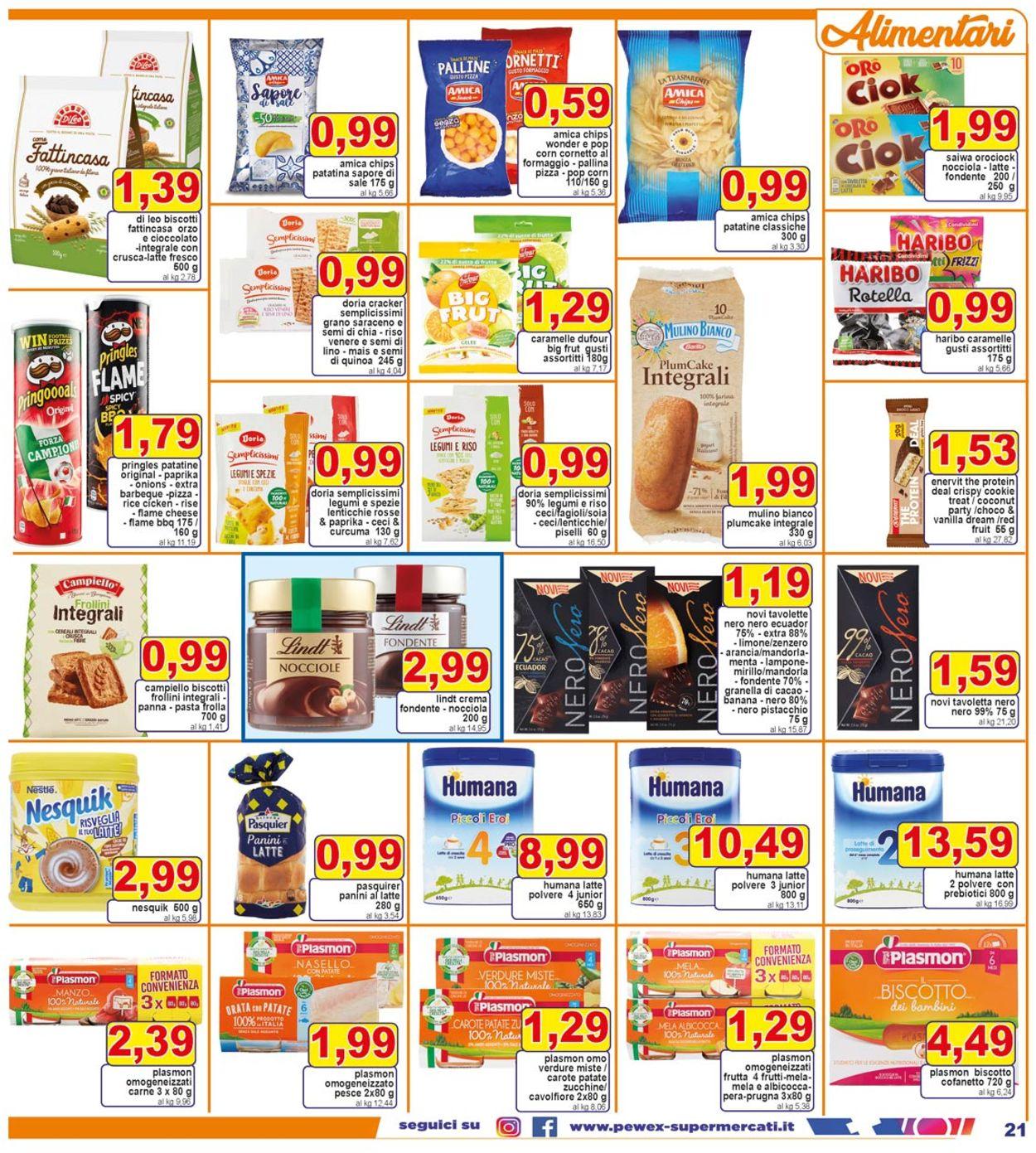 Volantino Pewex - Offerte 28/05-08/06/2021 (Pagina 21)
