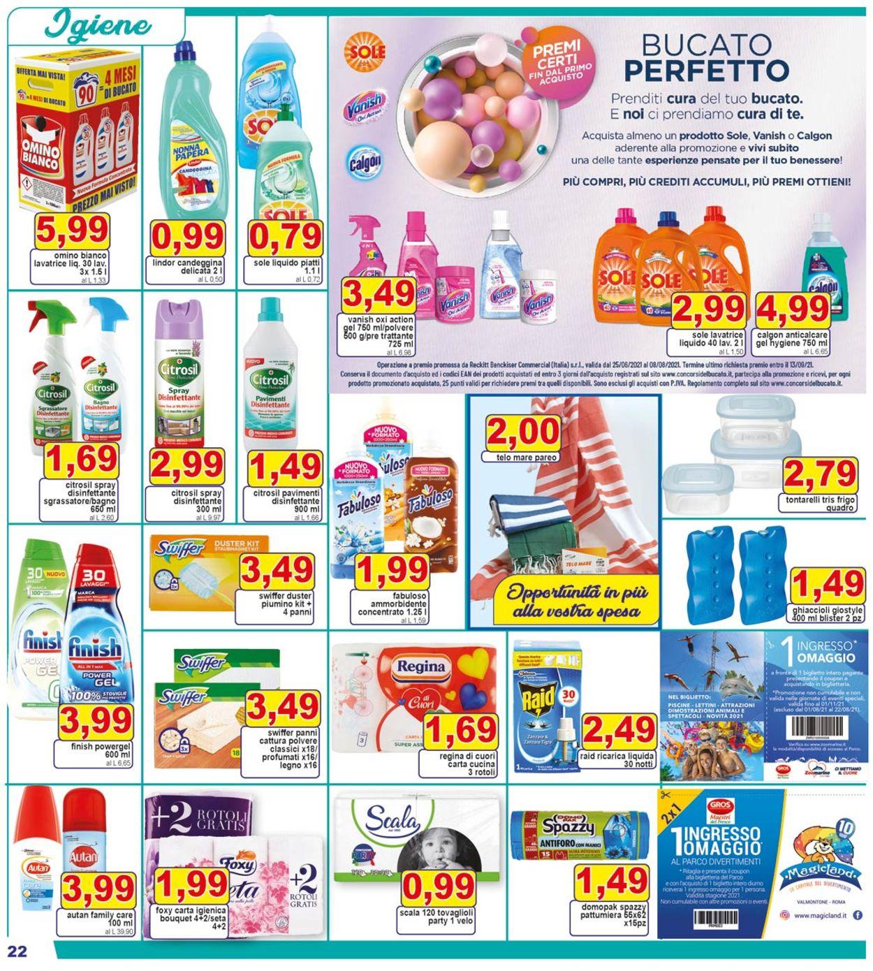 Volantino Pewex - Offerte 21/07-29/07/2021 (Pagina 22)