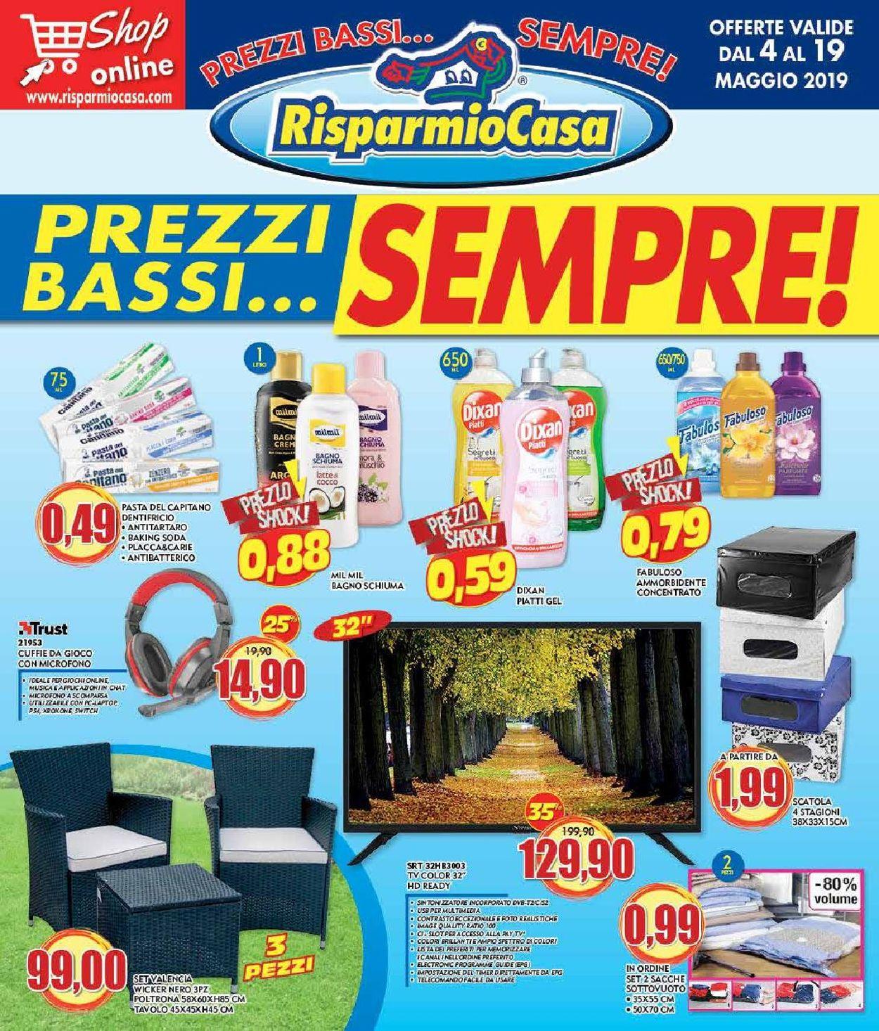 Volantino Risparmio Casa - Offerte 04/05-19/05/2019