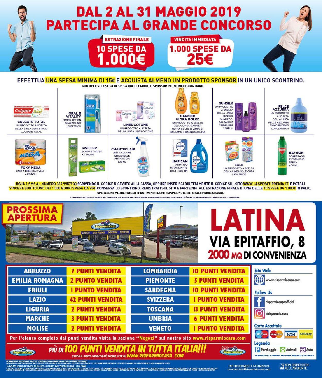 Volantino Risparmio Casa - Offerte 04/05-19/05/2019 (Pagina 12)
