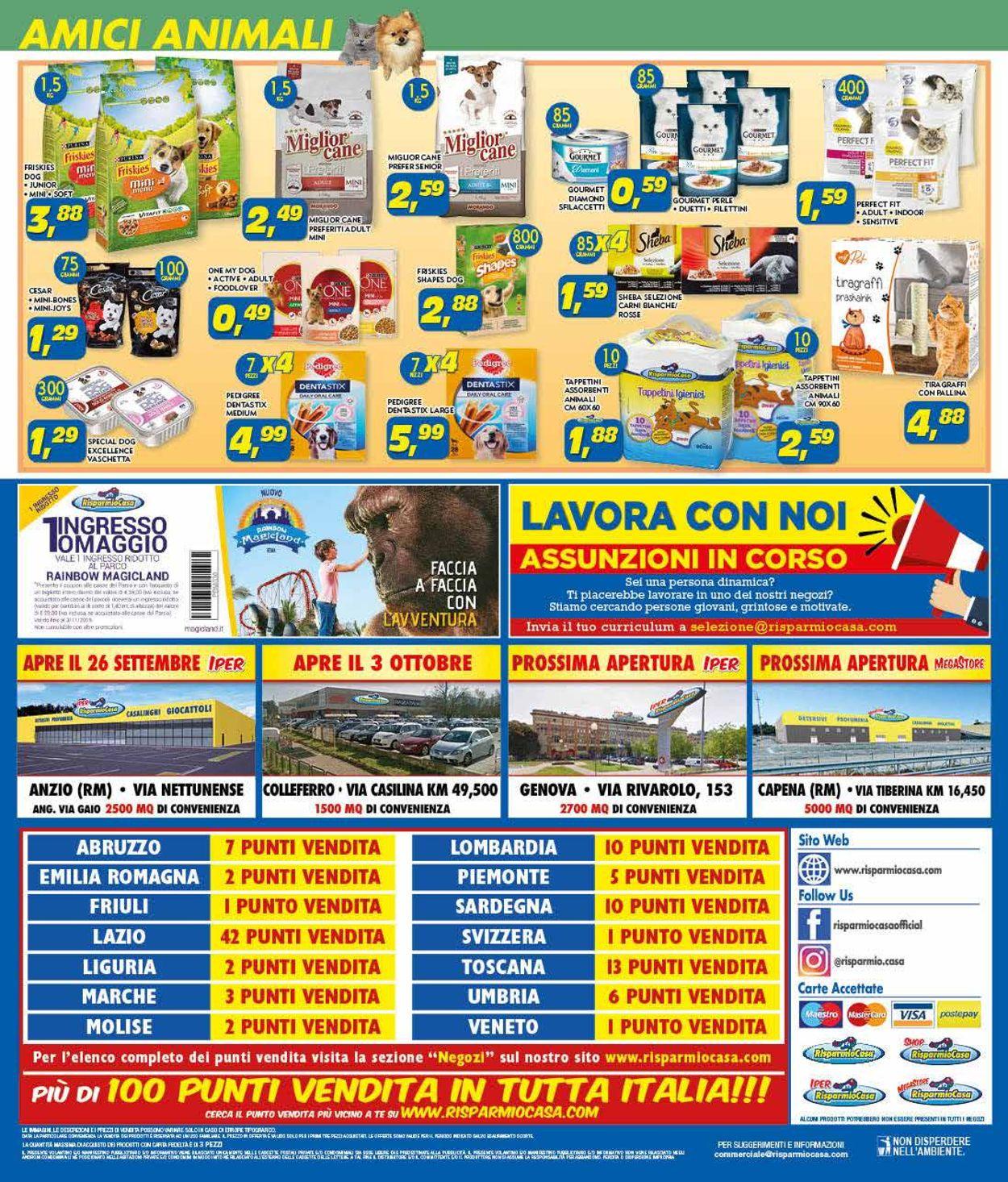 Volantino Risparmio Casa - Offerte 26/09-05/10/2019 (Pagina 16)