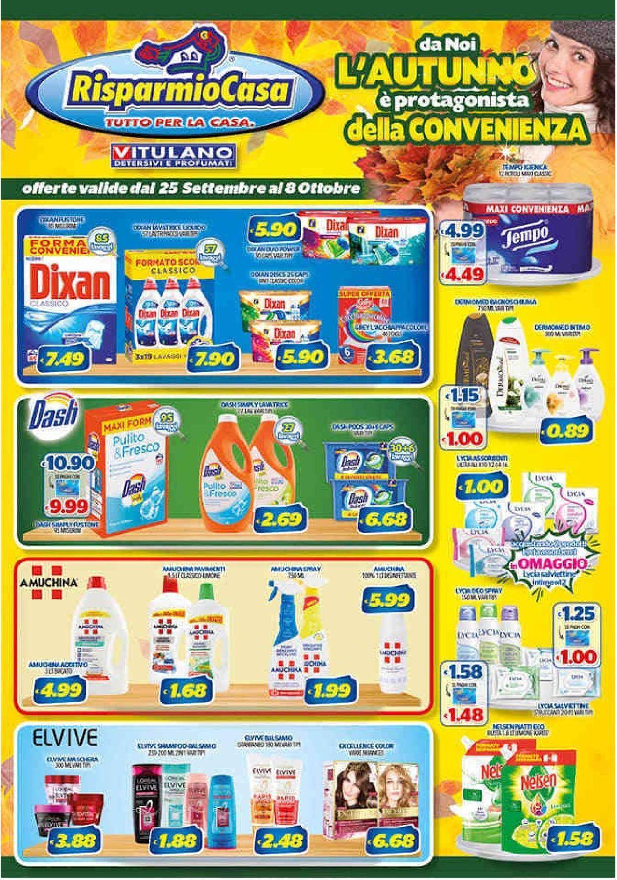 Volantino Risparmio Casa - Offerte 25/09-08/10/2019