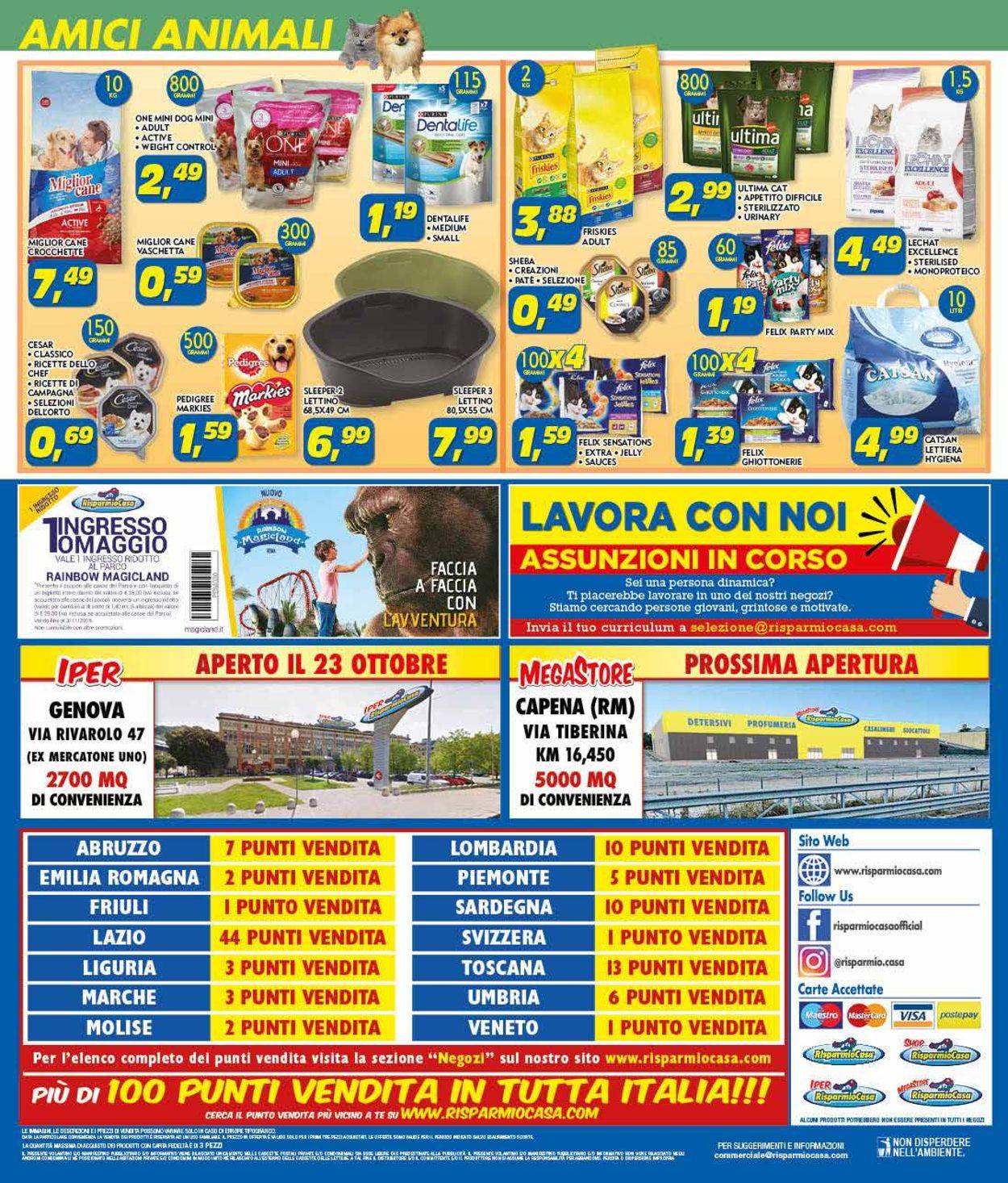 Volantino Risparmio Casa - Offerte 24/10-10/11/2019 (Pagina 24)
