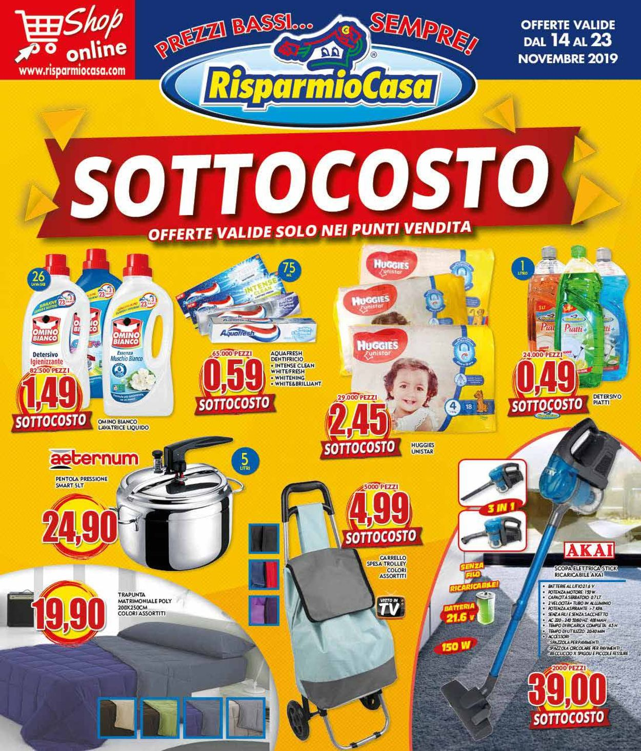 Volantino Risparmio Casa - Offerte 14/11-23/11/2019