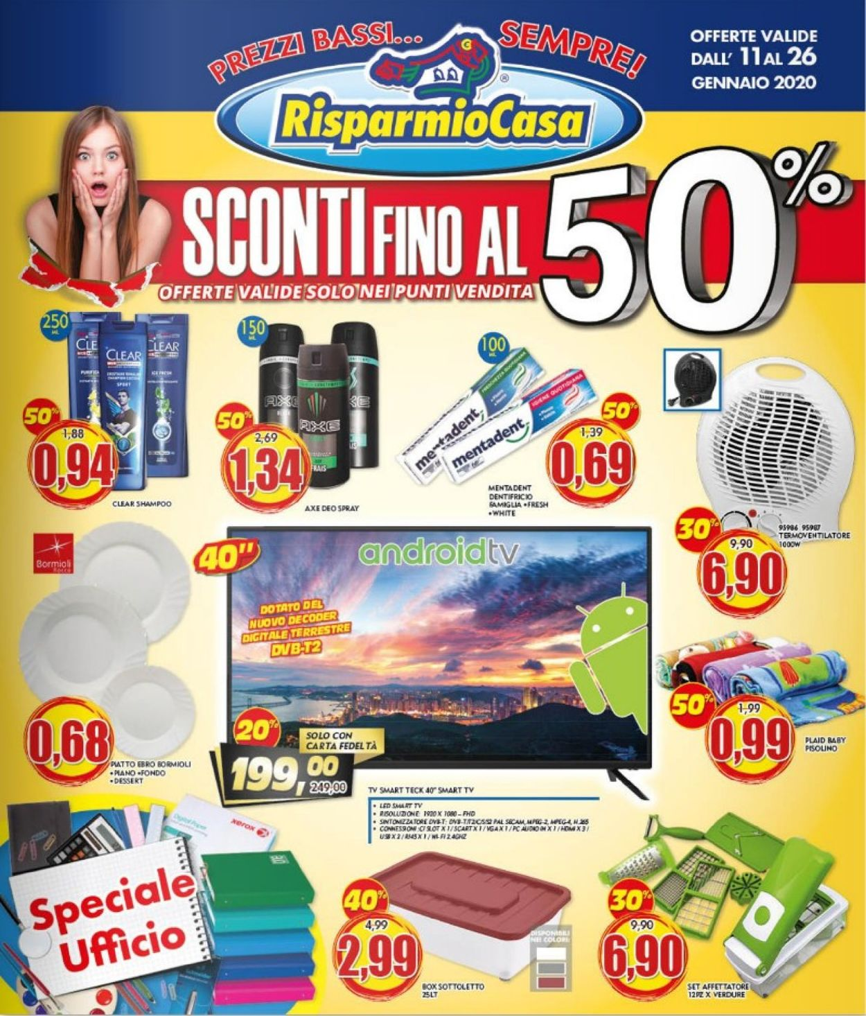 Volantino Risparmio Casa - Offerte 11/01-26/01/2020