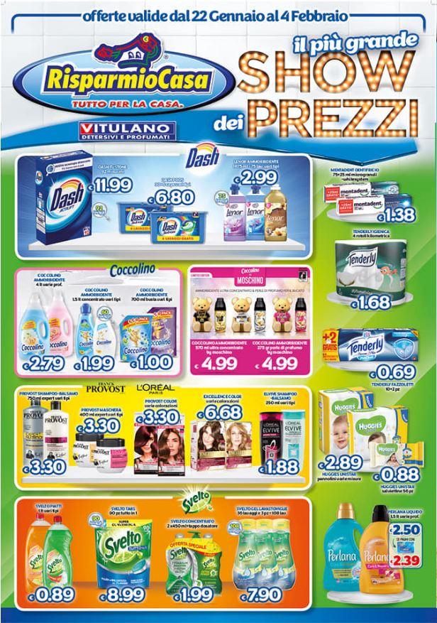 Volantino Risparmio Casa - Offerte 22/01-04/02/2020