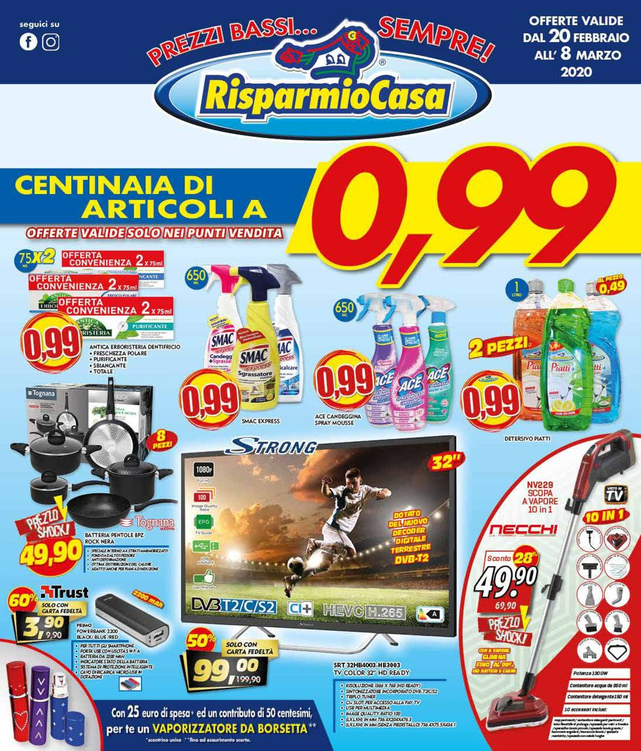 Volantino Risparmio Casa - Offerte 20/02-08/03/2020