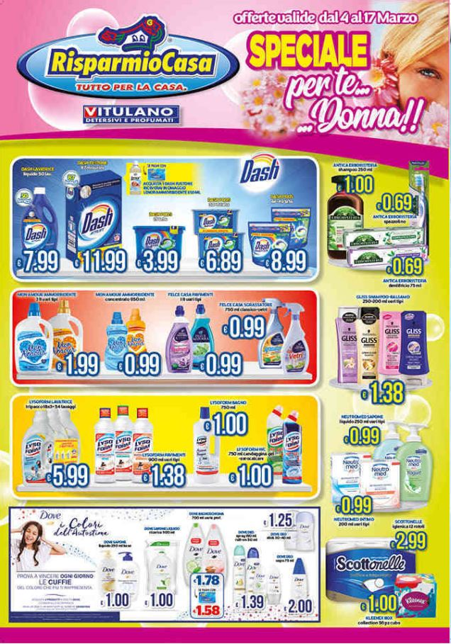 Volantino Risparmio Casa - Offerte 04/03-17/03/2020