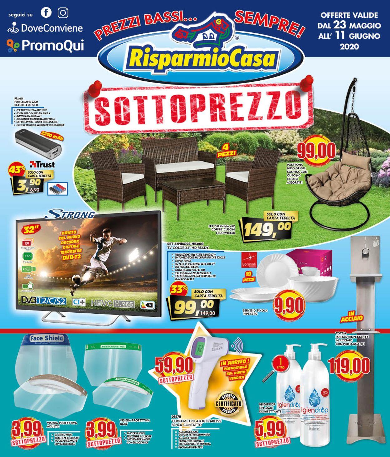 Volantino Risparmio Casa - Offerte 23/05-11/06/2020