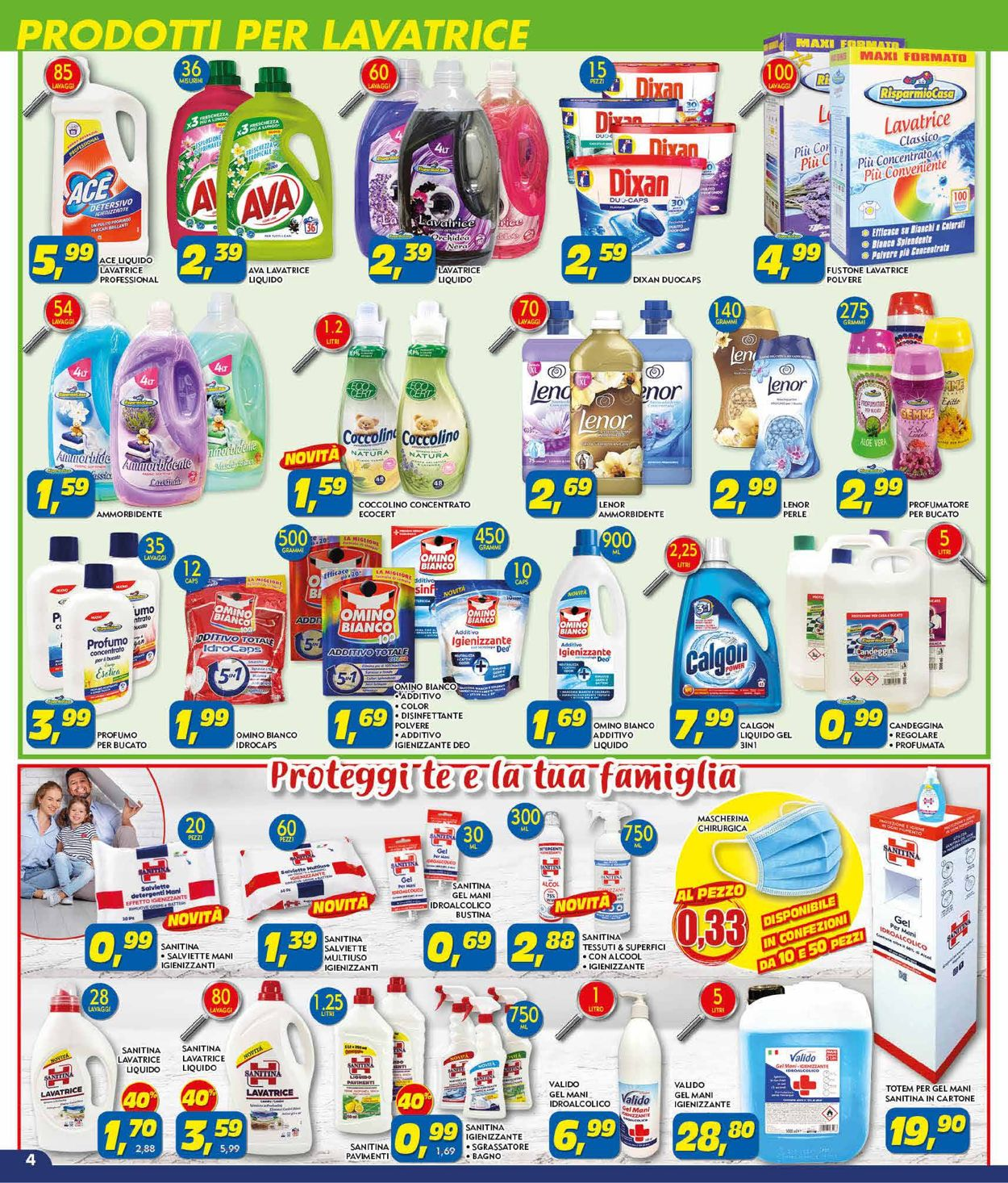 Volantino Risparmio Casa - Offerte 03/08-22/08/2020 (Pagina 4)