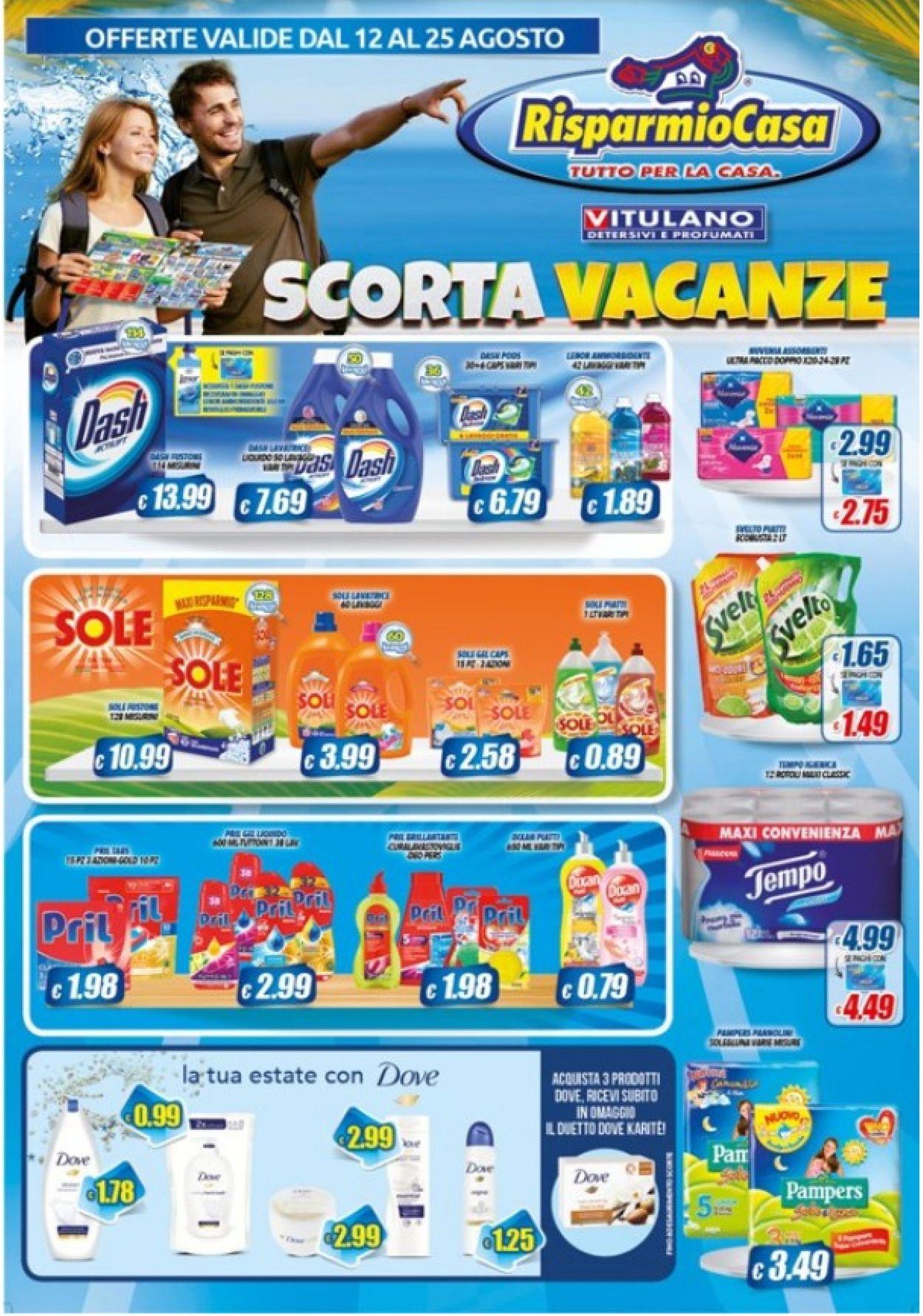 Volantino Risparmio Casa - Offerte 12/08-25/08/2020