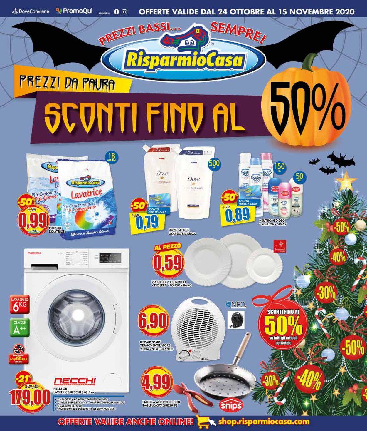 Volantino Risparmio Casa - Offerte 24/10-15/11/2020