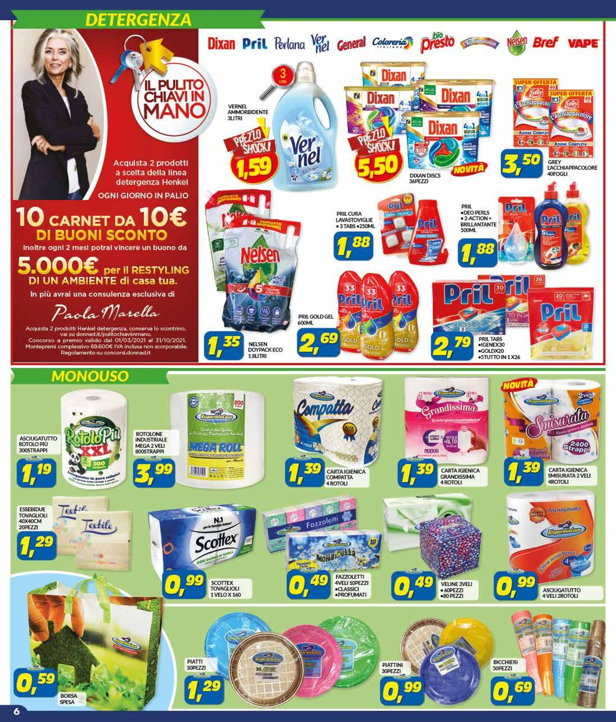 Volantino Risparmio Casa - Pasqua 2021! - Offerte 27/03-18/04/2021 (Pagina 6)