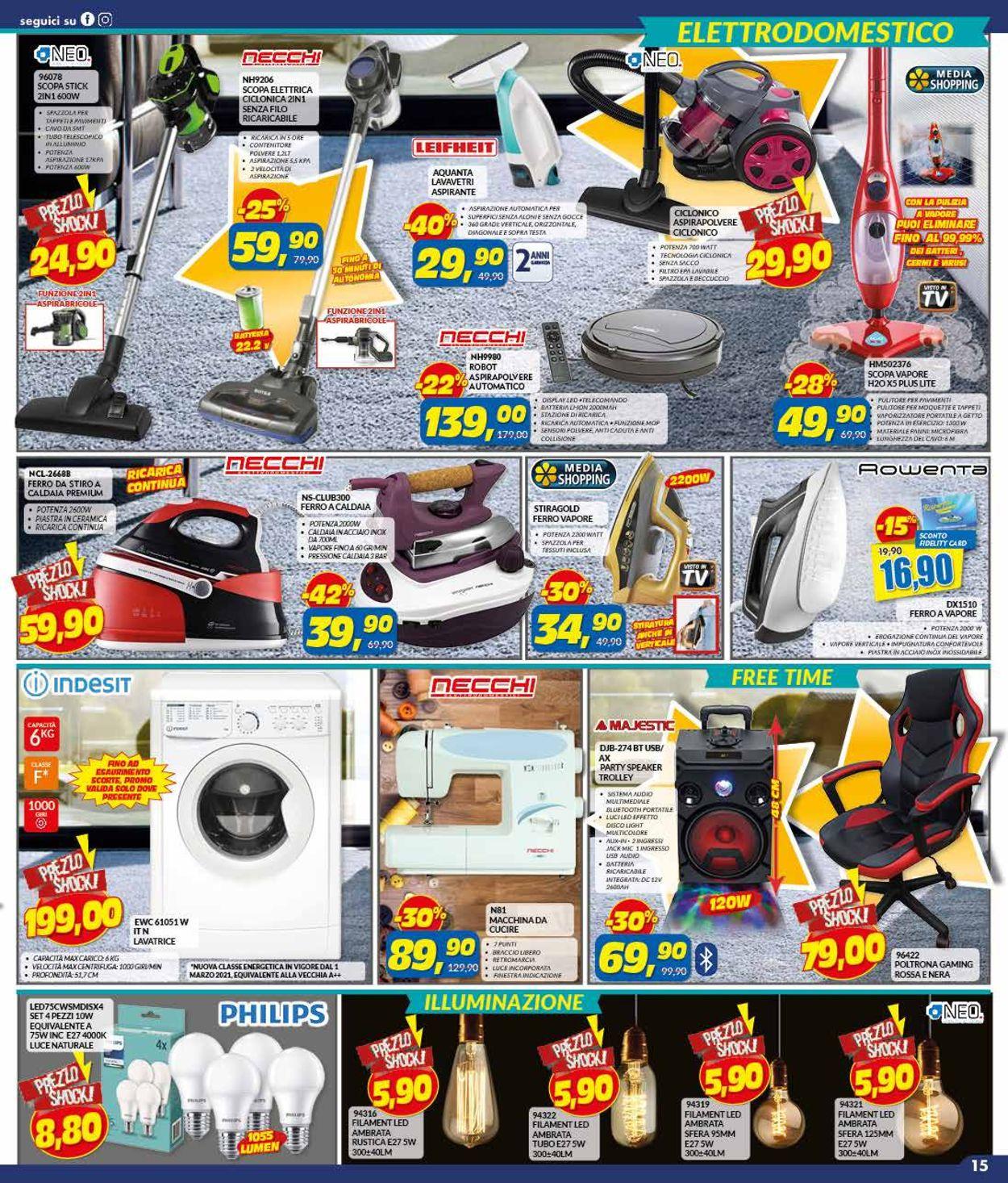 Volantino Risparmio Casa - Pasqua 2021! - Offerte 27/03-18/04/2021 (Pagina 15)