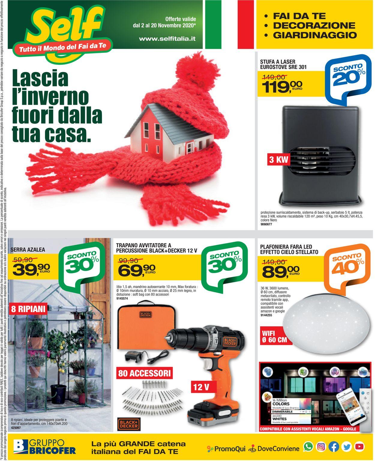Volantino Self - Offerte 02/11-20/11/2020