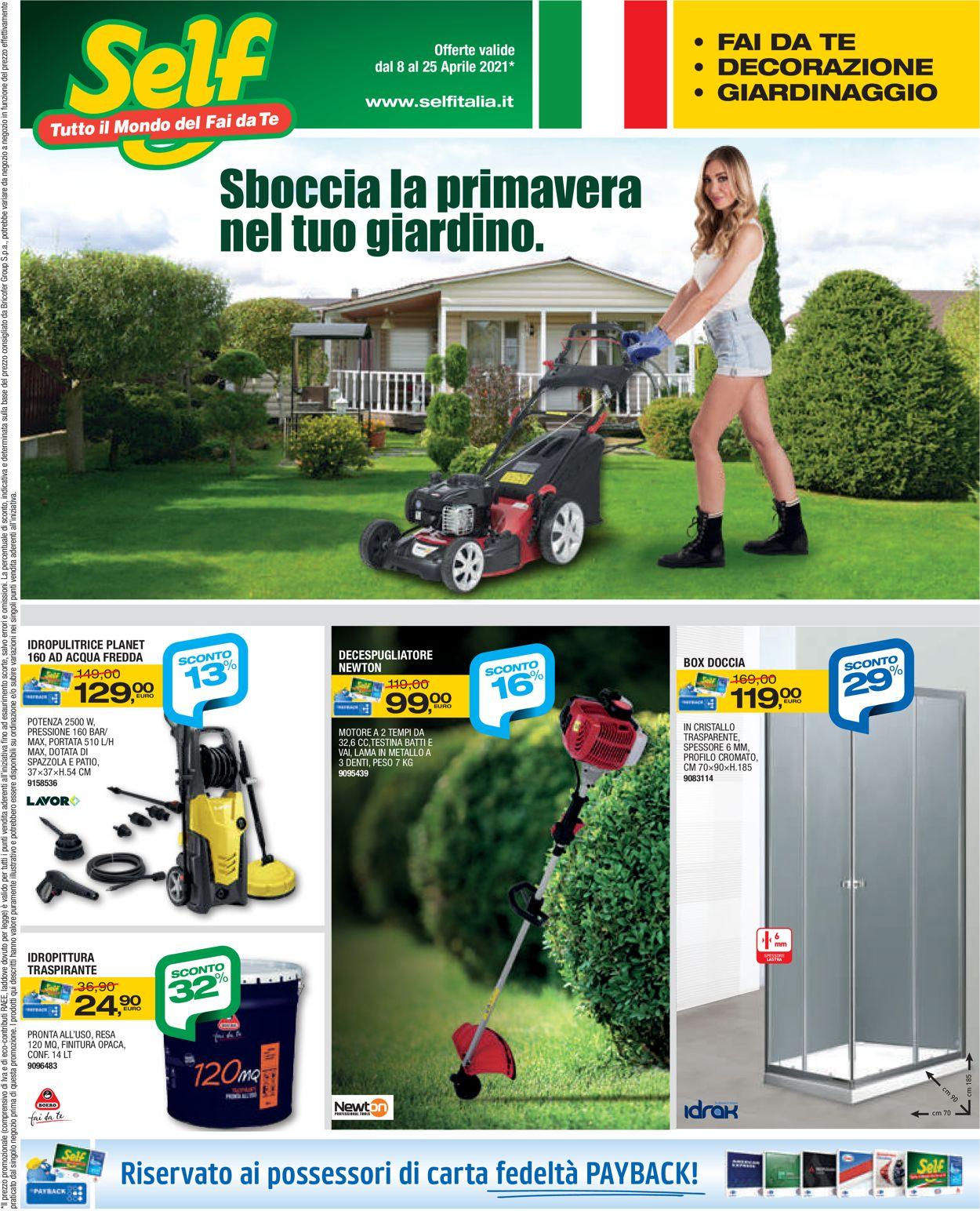 Volantino Self - Offerte 08/04-25/04/2021