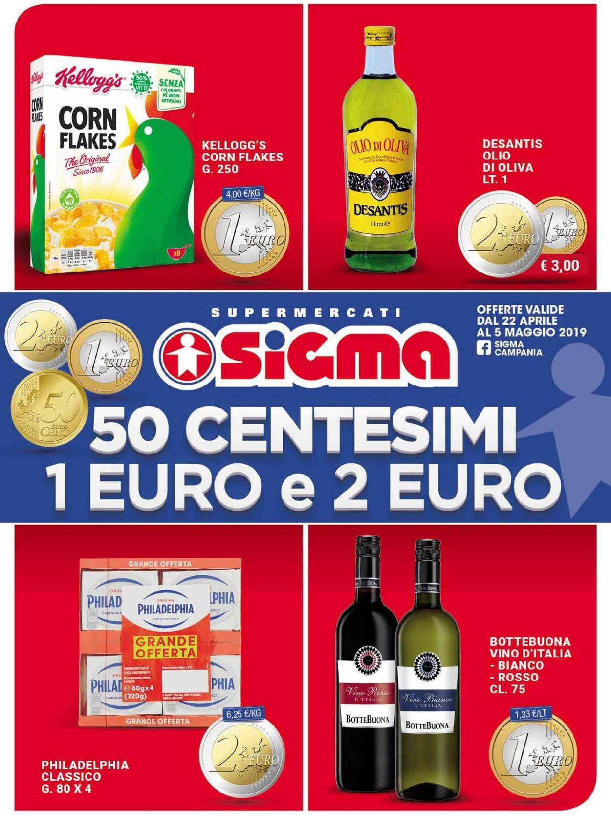 Volantino Sigma - Offerte 23/04-05/05/2019