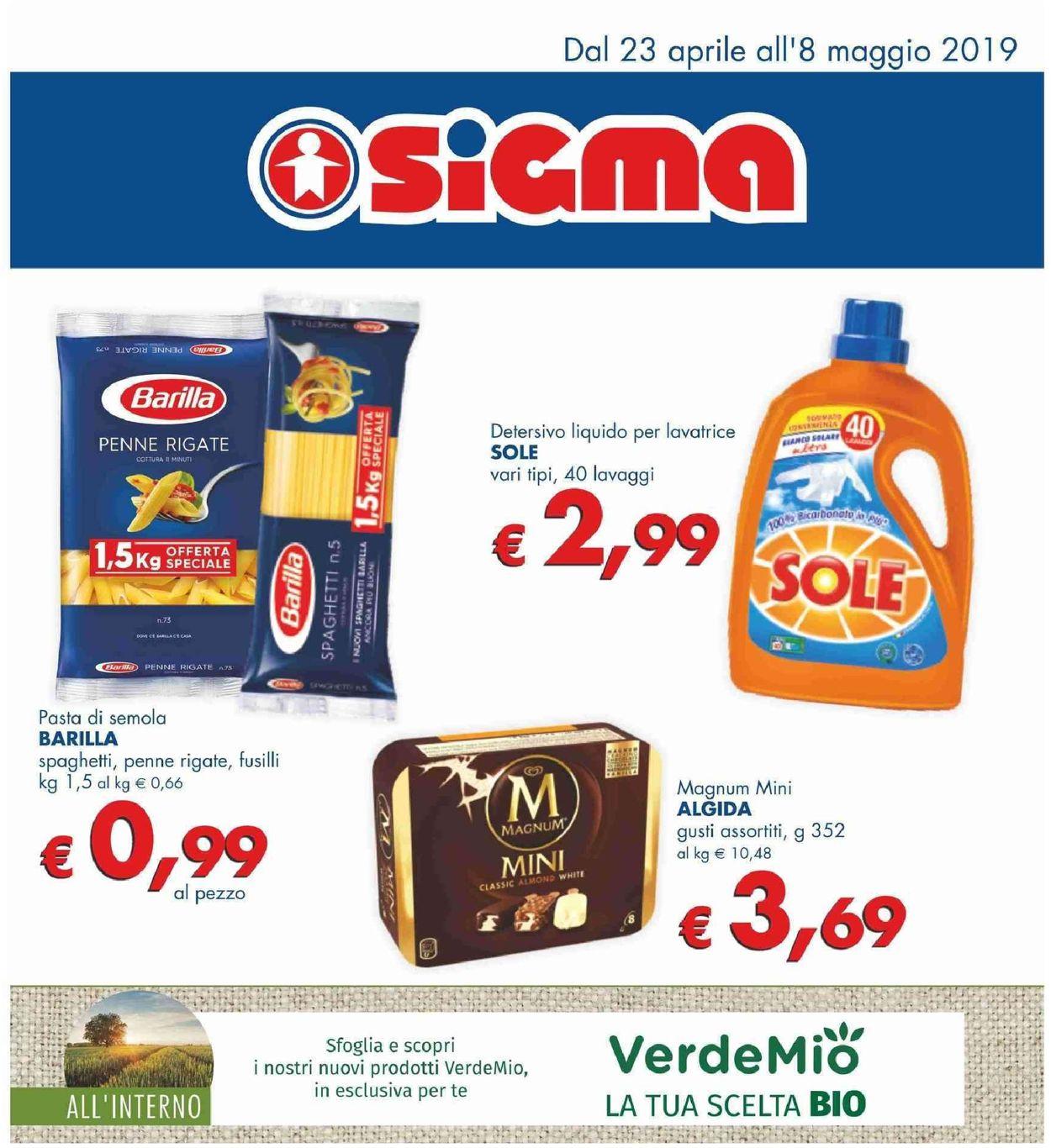 Volantino Sigma - Offerte 23/04-08/05/2019