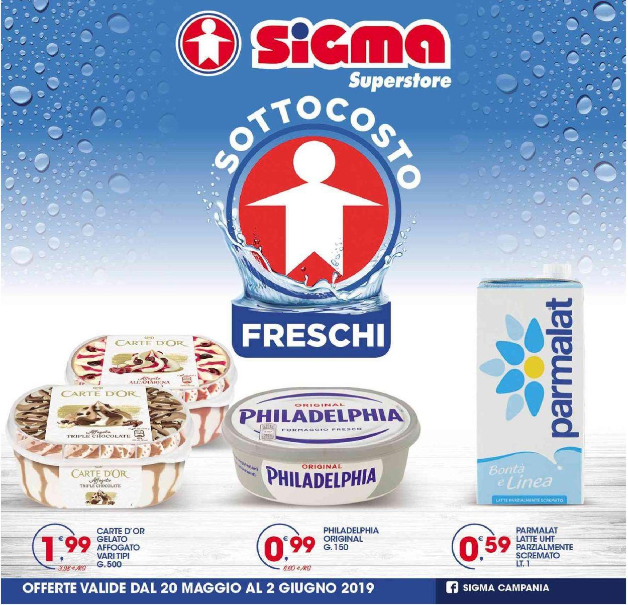 Volantino Sigma - Offerte 20/05-02/06/2019