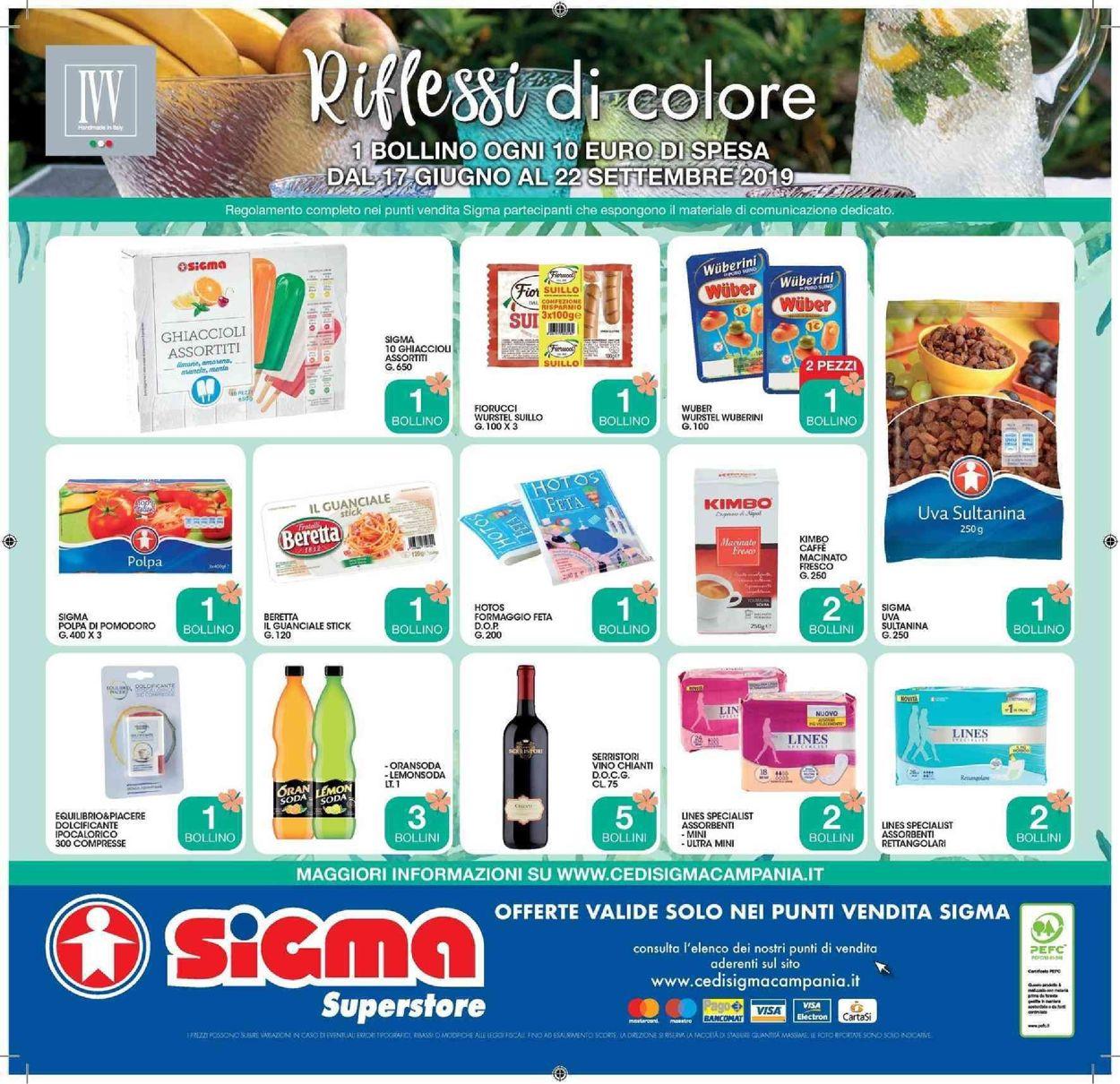 Volantino Sigma - Offerte 26/08-08/09/2019 (Pagina 23)