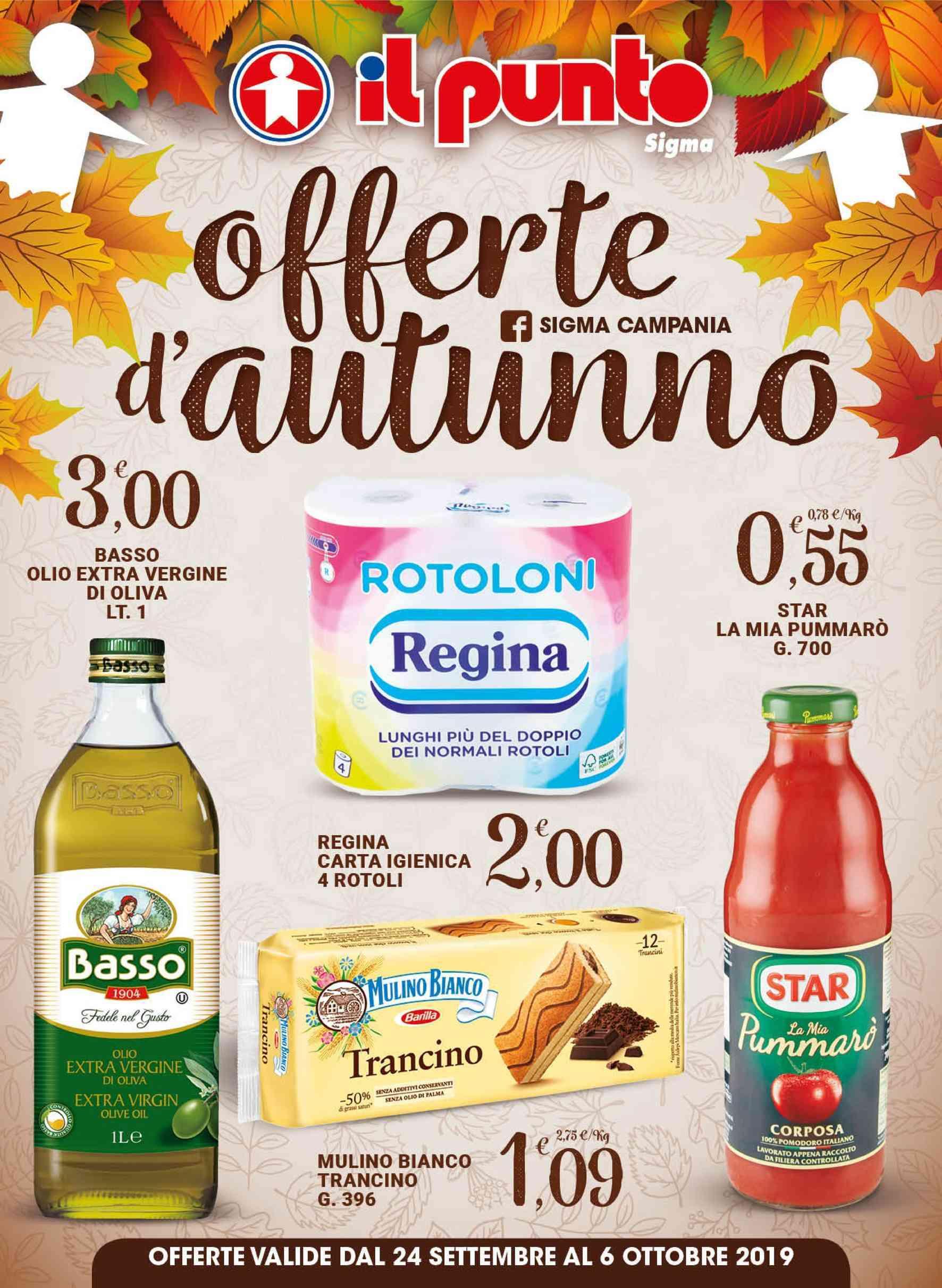 Volantino Sigma - Offerte 24/09-06/10/2019
