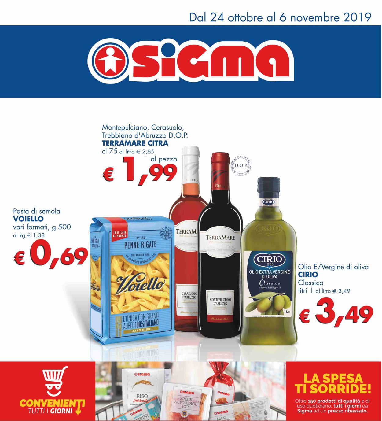 Volantino Sigma - Offerte 24/10-06/11/2019
