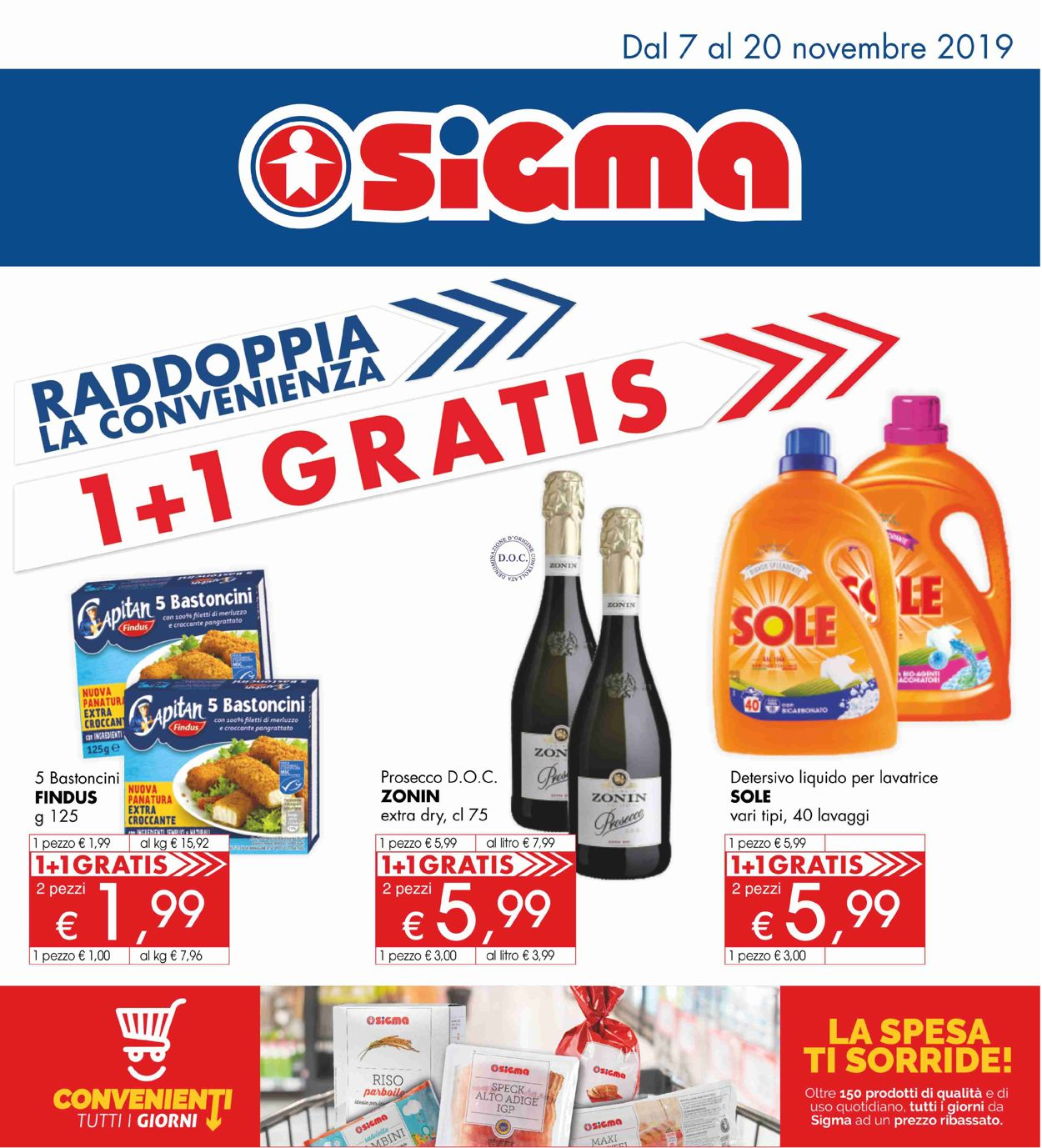 Volantino Sigma - Offerte 07/11-20/11/2019