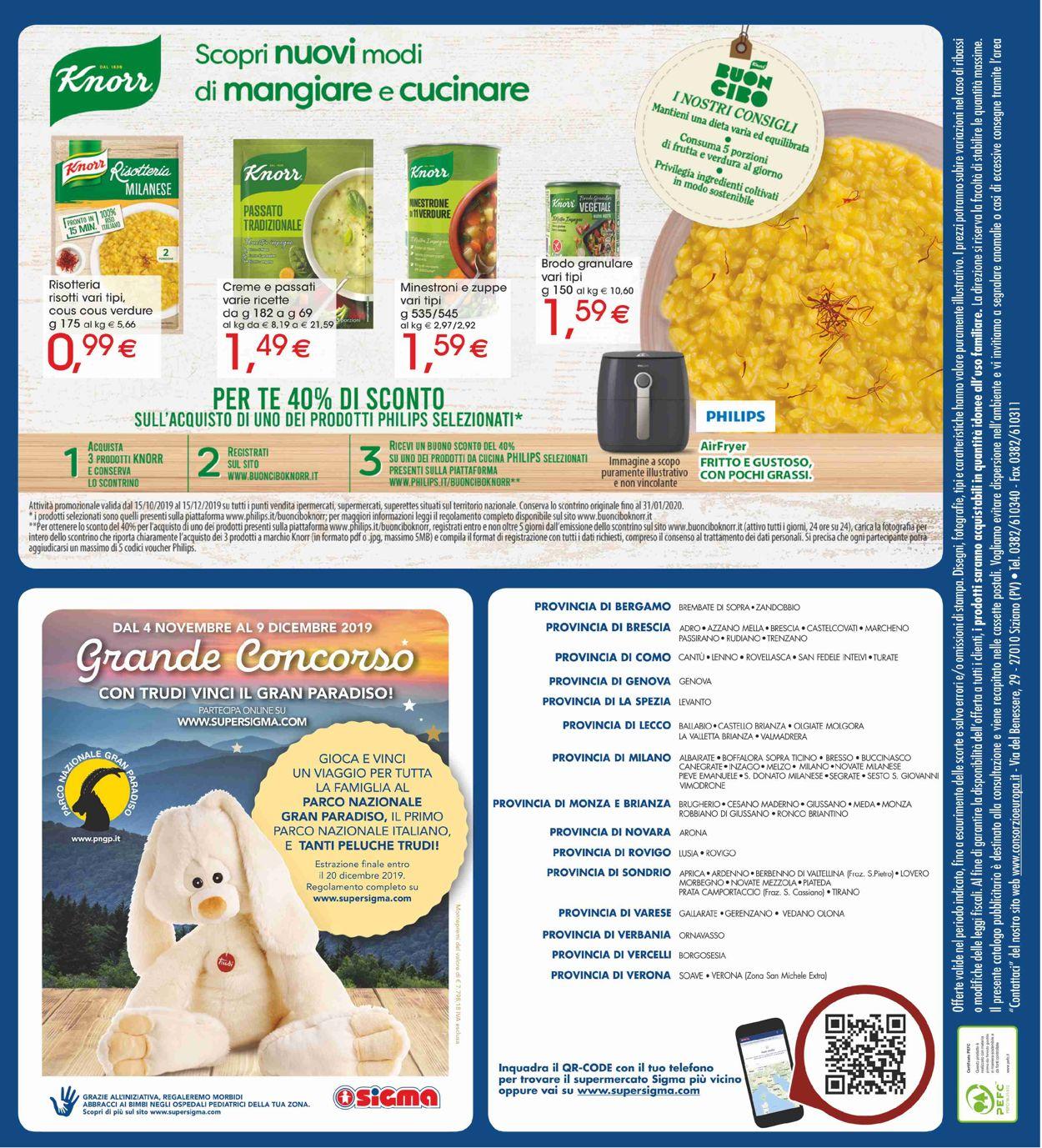 Volantino Sigma - Offerte 07/11-20/11/2019 (Pagina 16)