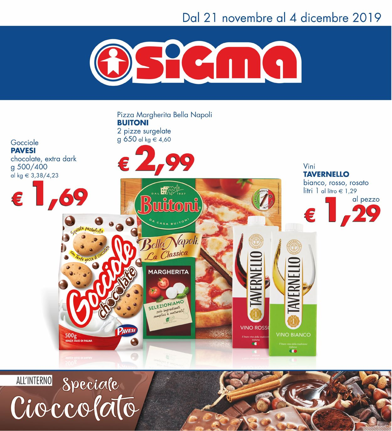 Volantino Sigma - Offerte 21/11-04/12/2019