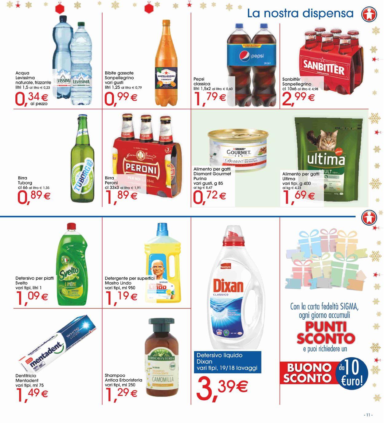 Volantino Il volantino natalizio di Sigma - Offerte 03/12-15/12/2019 (Pagina 11)